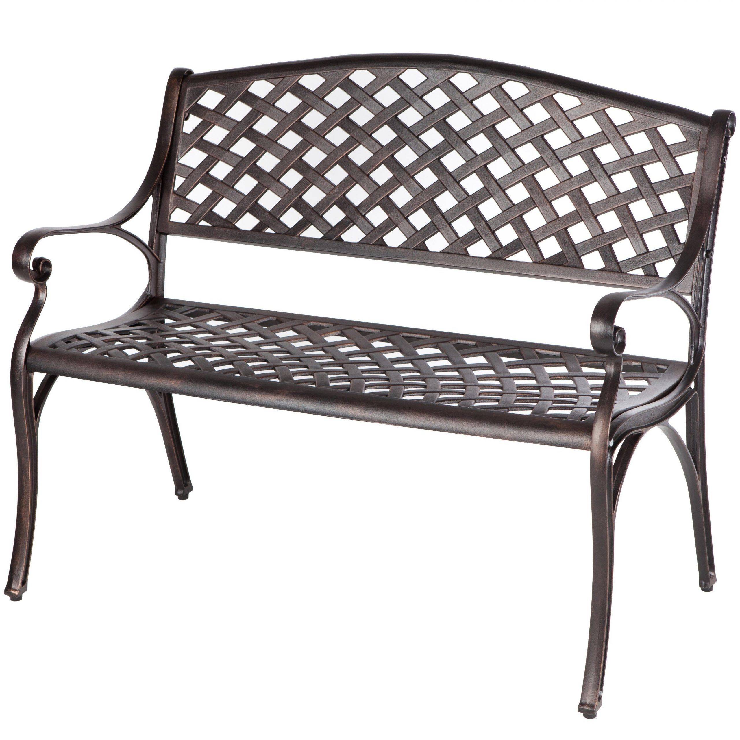 Patio Chairs, Swings & Benches Yard, Garden & Outdoor Living In Well Liked 2 Person Antique Black Iron Outdoor Swings (View 24 of 30)