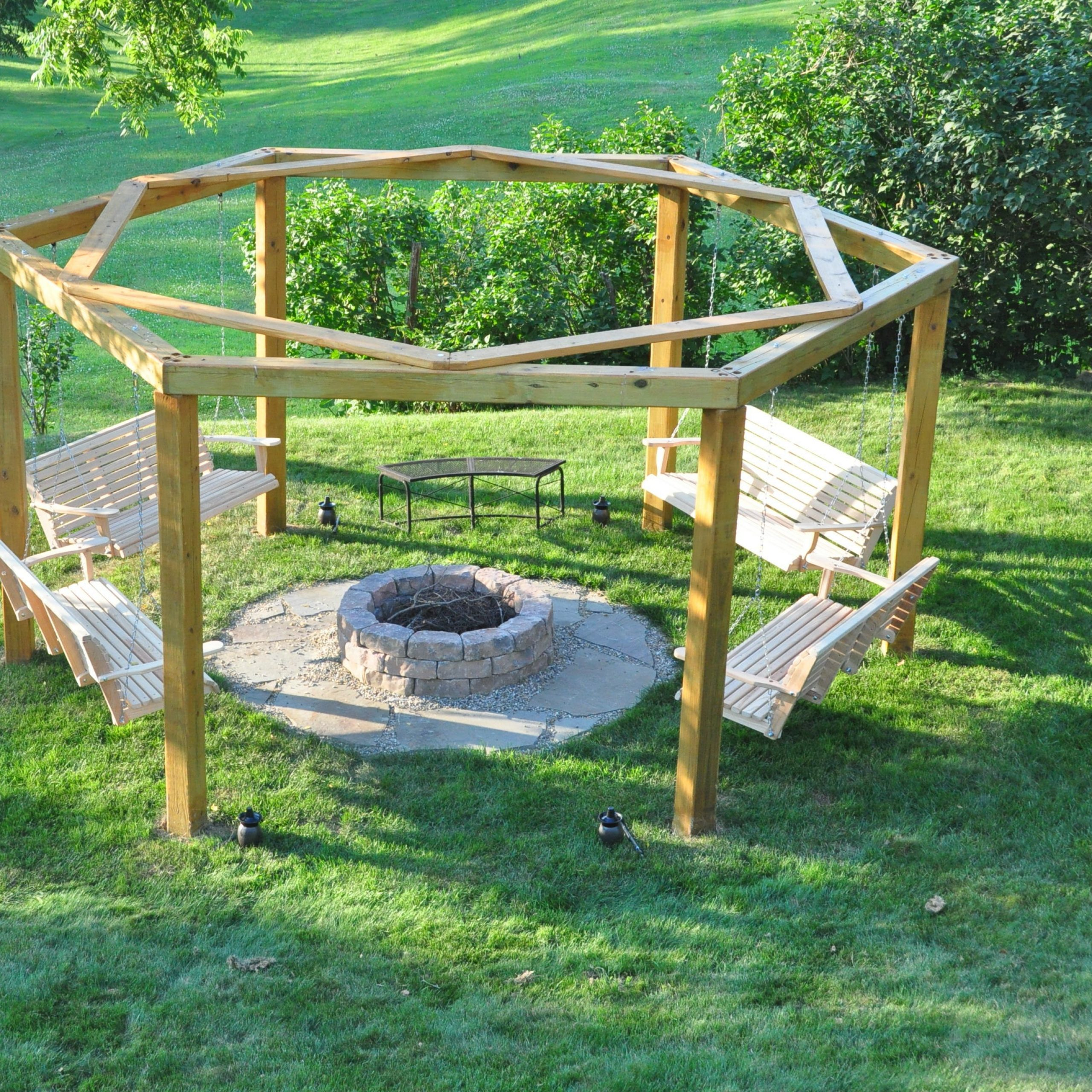 Patio Glider Hammock Porch Swings Pertaining To Current Porch Swing Fire Pit : 12 Steps (with Pictures) – Instructables (View 14 of 30)
