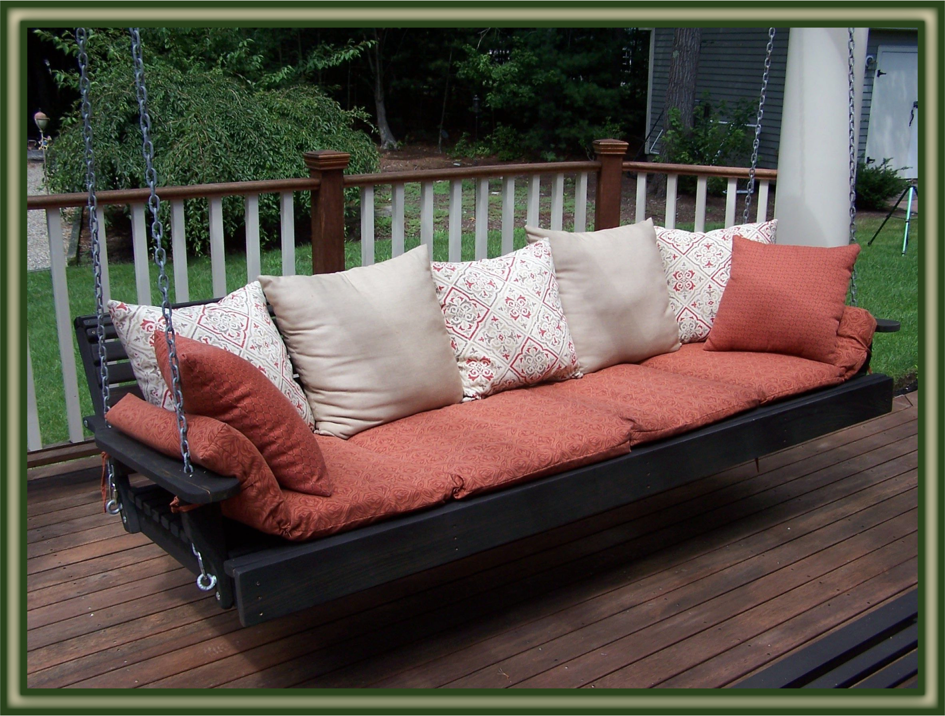 Patio Hanging Porch Swings With Most Recently Released Rattan Outdoor Garden Pato Day Bed Furnture Lounger Sofa (View 28 of 30)