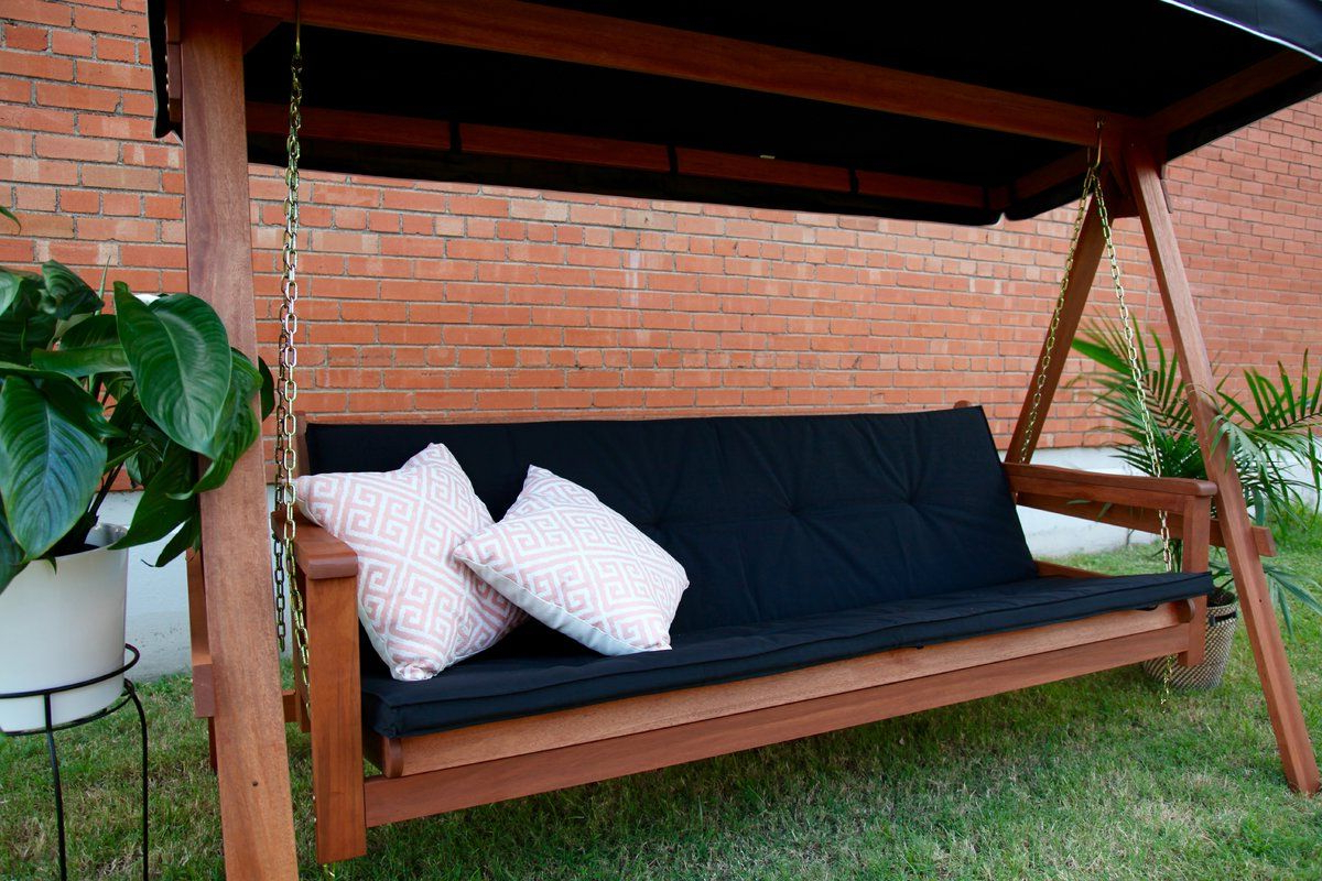 Peggy Daybed Porch Swing With Stand (View 3 of 30)