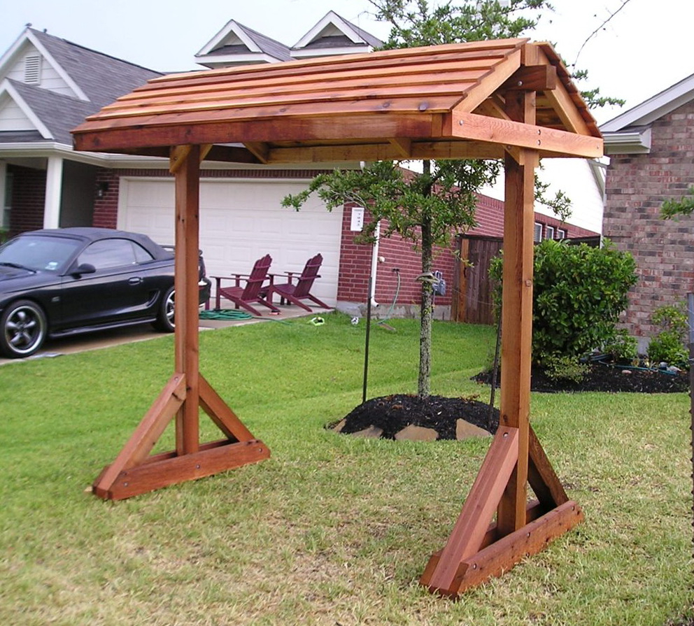 Pergola Porch Swings With Stand With Current Standing Porch Swing Plans And Landscape Outdoor Stands (View 7 of 30)
