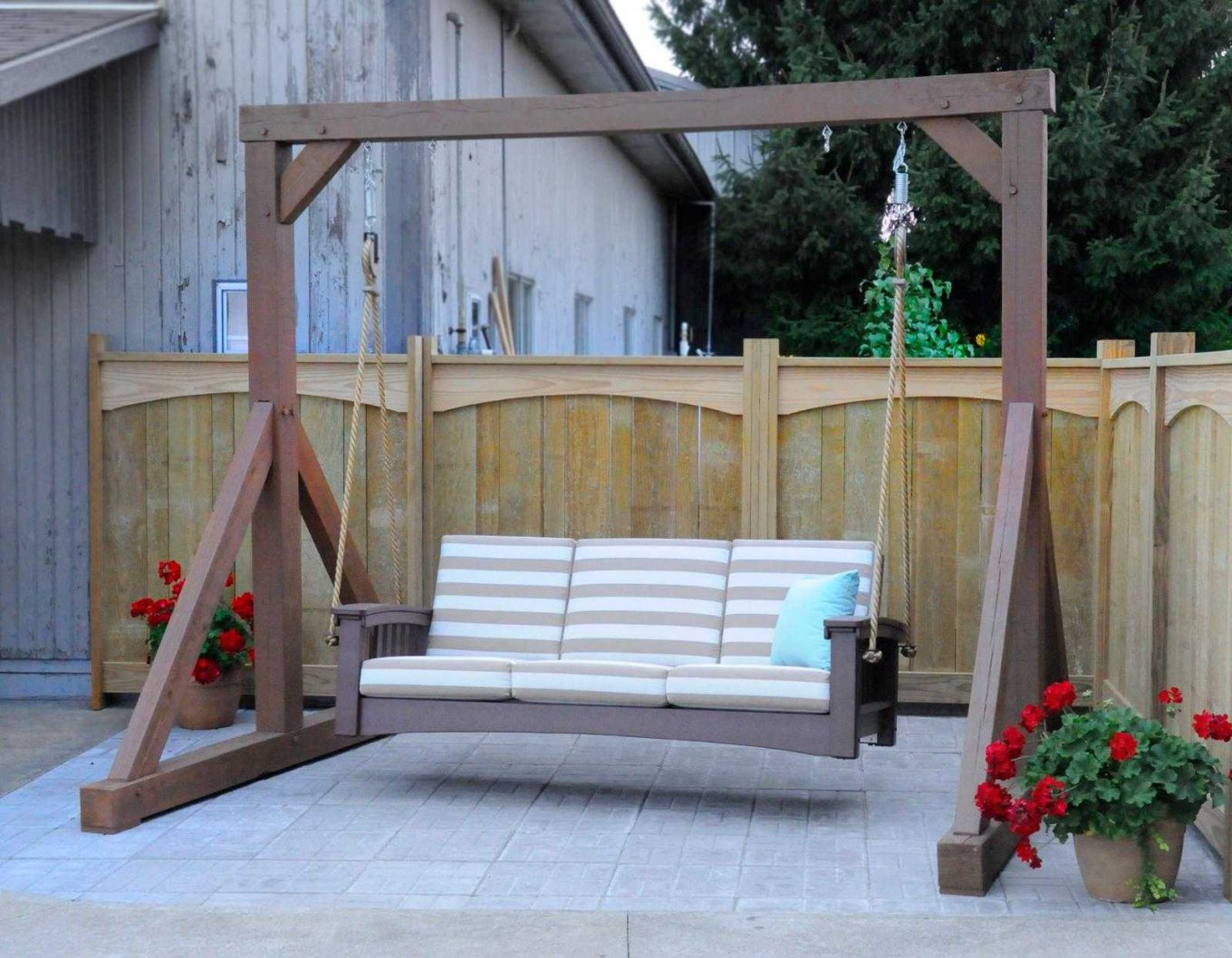 Pergola Porch Swings With Stand With Famous Exotic Standing Porch Swings Hd Home Furniture Ideas Pergola (View 15 of 30)
