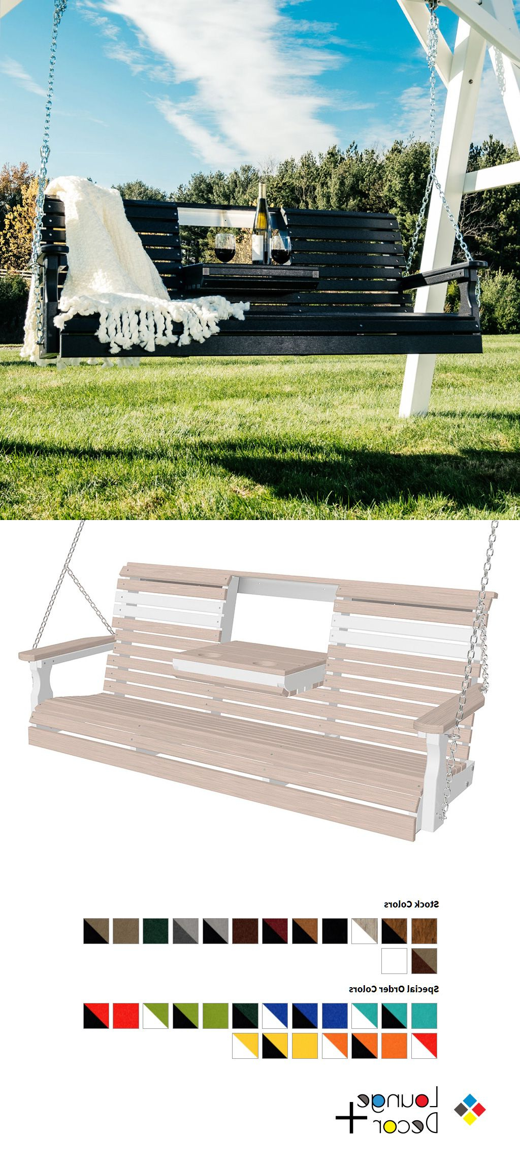 Featured Photo of Plain Porch Swings