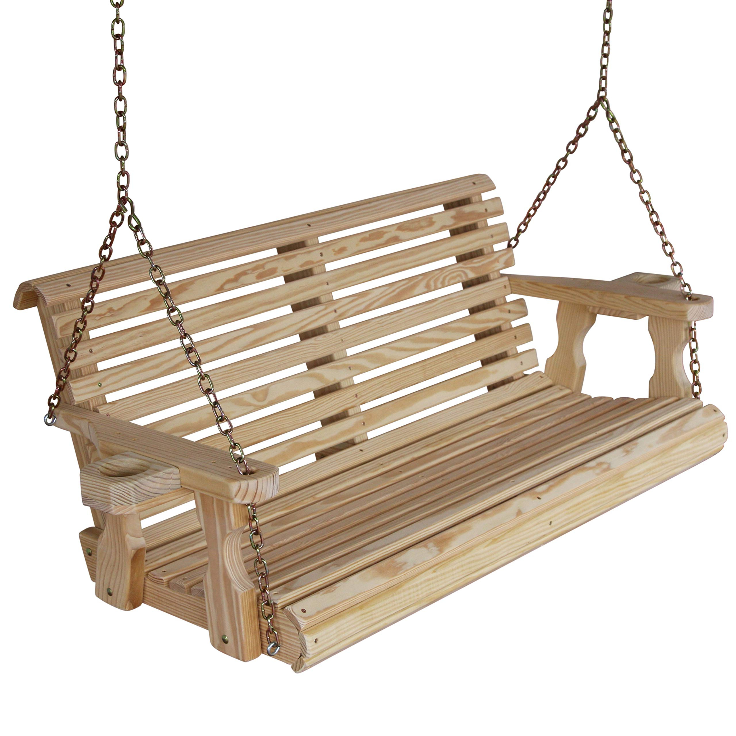 Plain Porch Swings Within 2020 Best Rated In Porch Swings & Helpful Customer Reviews (View 11 of 30)