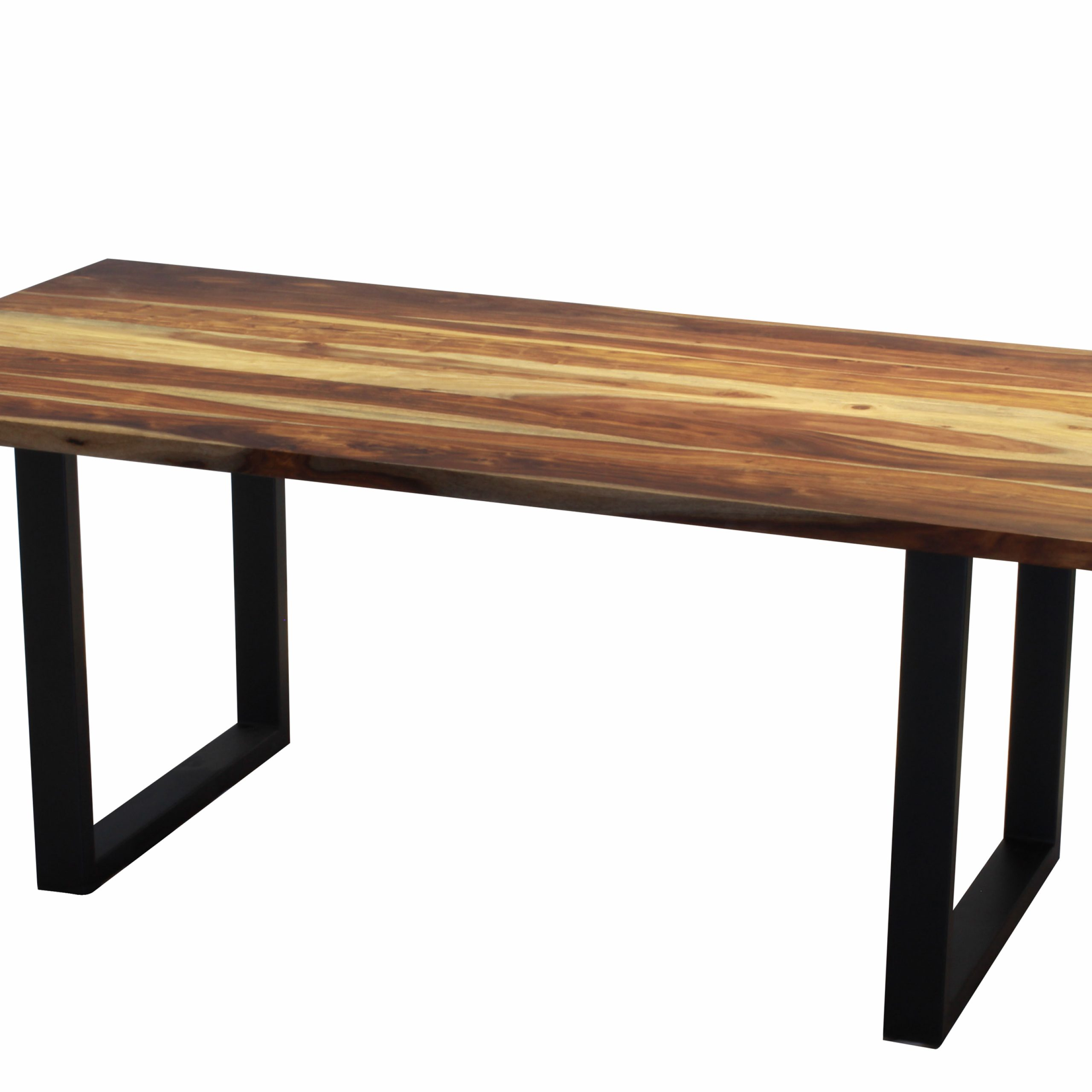 "Popular Acacia Dining Tables With Black Rocket Legs For Corcoran Acacia Live Edge Dining Table With Black Rocket Legs – 72"" (View 3 of 30)"