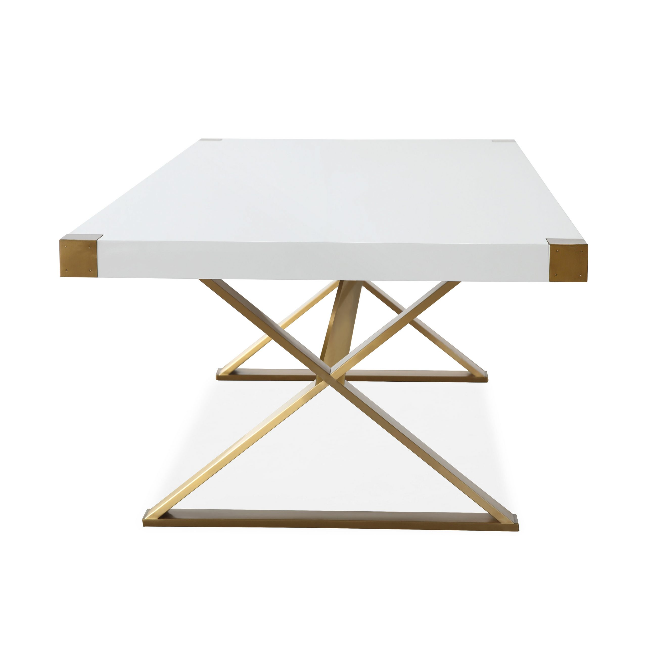 Popular Adeline Dining Table – Tov Furniture Within Dining Tables With Brushed Gold Stainless Finish (View 24 of 30)
