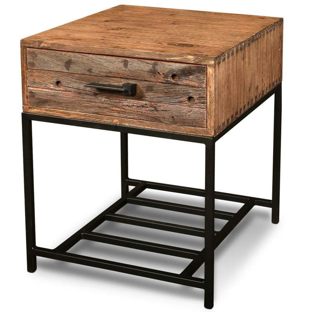 Popular Atwood Transitional Rectangular Dining Tables Inside Amazon: Atwood 1 Drawer End Table: Kitchen & Dining (View 15 of 30)