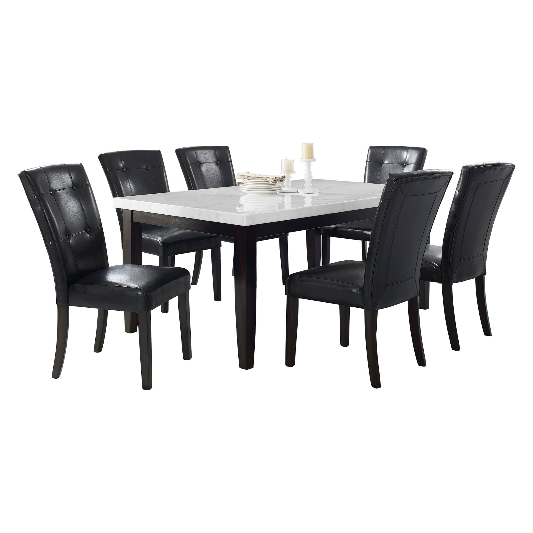 Popular Atwood Transitional Rectangular Dining Tables Pertaining To Steve Silver Co (View 23 of 30)