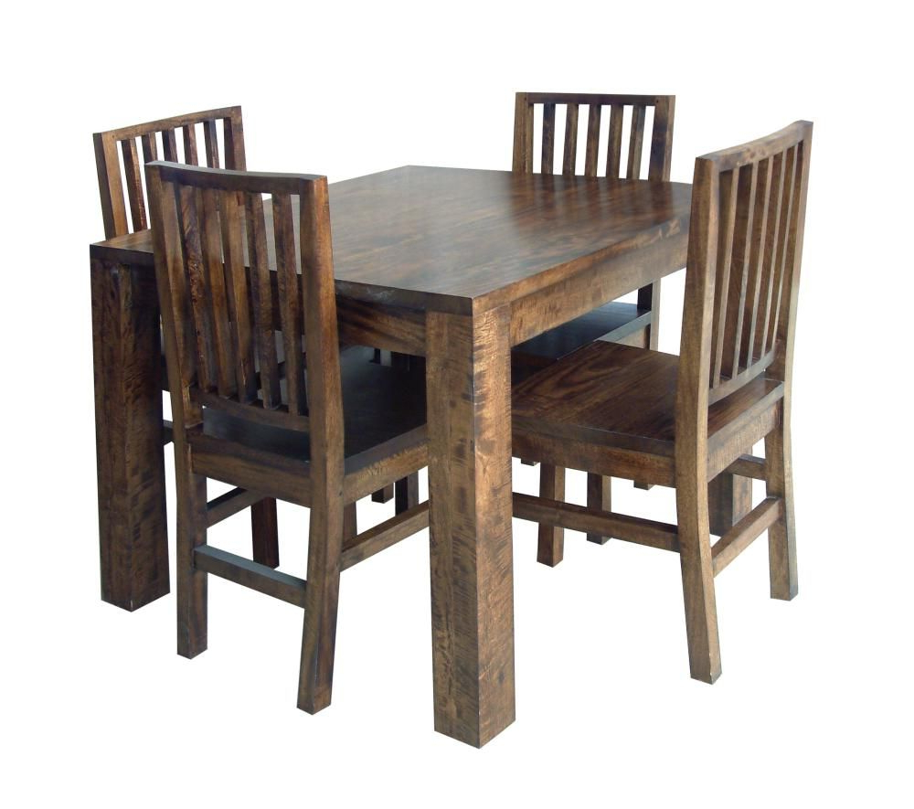 Popular Bistro Transitional 4 Seating Square Dining Tables Inside Wooden Card Table (View 12 of 30)