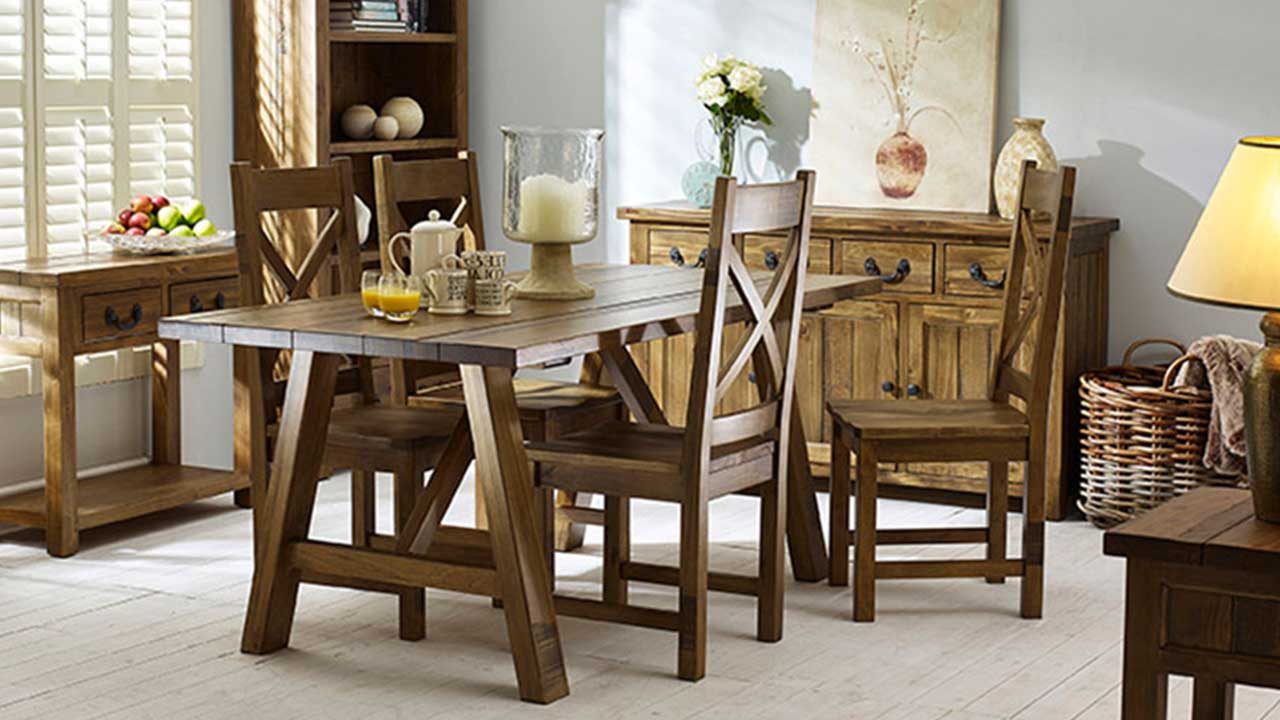 Popular Cotswold Rustic Pine Furniture (View 23 of 30)