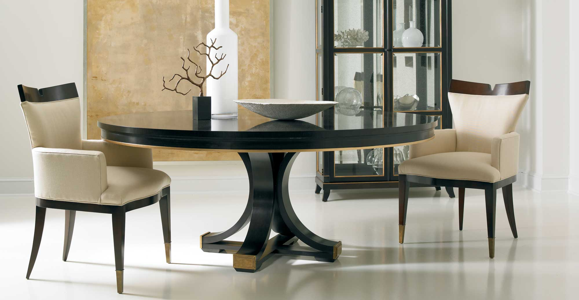 Popular Custom Dining Table Works – Hickory White – Where Custom Is Within Walnut And Antique White Finish Contemporary Country Dining Tables (View 23 of 30)