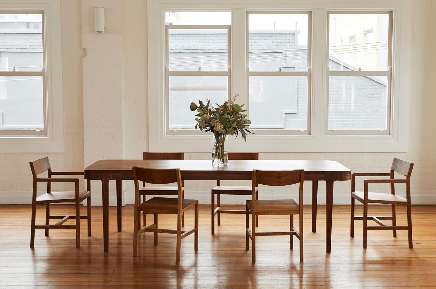 Popular Cuthy Dining Table – Hugh Mccarthy With Regard To Dining Tables With Stained Ash Walnut (View 23 of 30)
