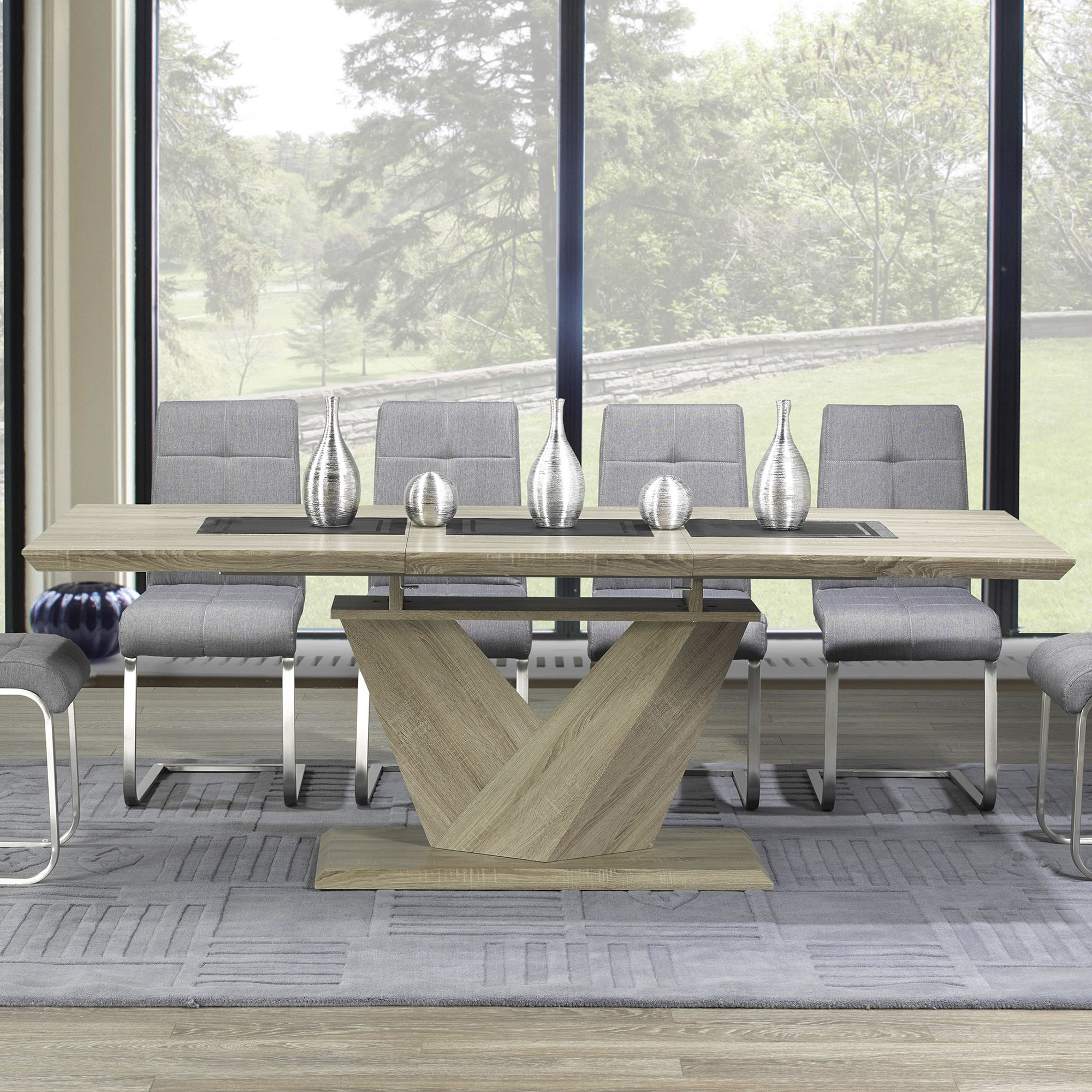 Popular Eclipse Dining Tables With Regard To Eclipse Dining Table (washed Oak) (View 24 of 30)
