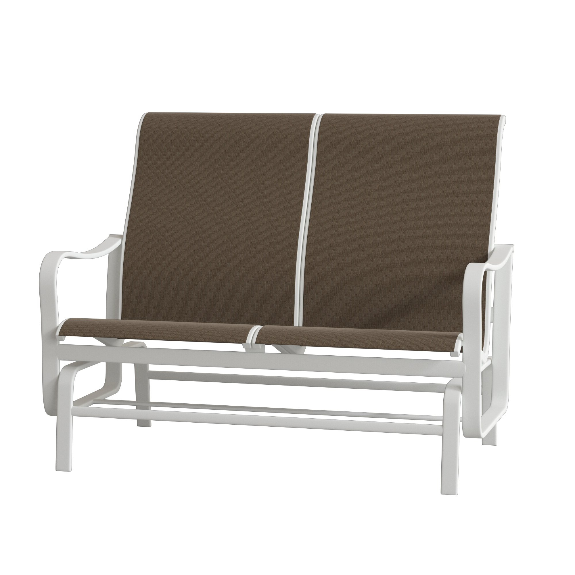 Popular Sling Double Glider Benches With Regard To Shoreline Sling Double Glider Bench (View 9 of 30)