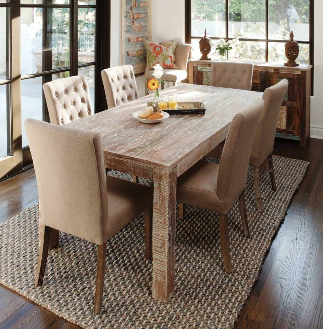 Popular Small Rustic Look Dining Tables With Regard To Rustic Table That Never Goes Out Of Style — Top Bathroom (View 30 of 30)