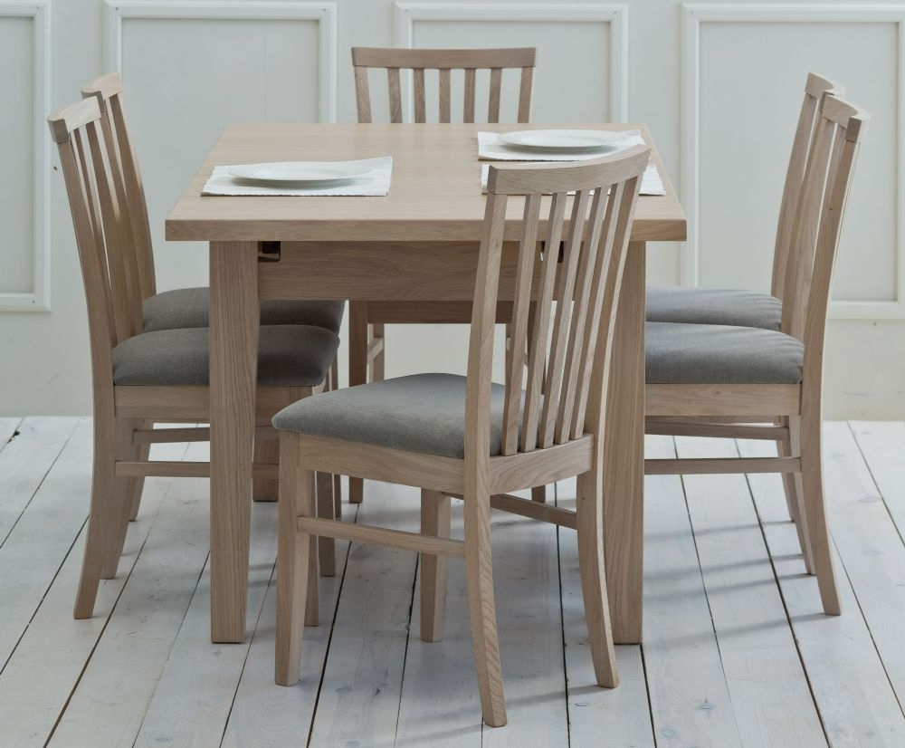 Popular Tch Windsor Oak Medium Extending Dining Table With Regard To Medium Dining Tables (View 20 of 30)