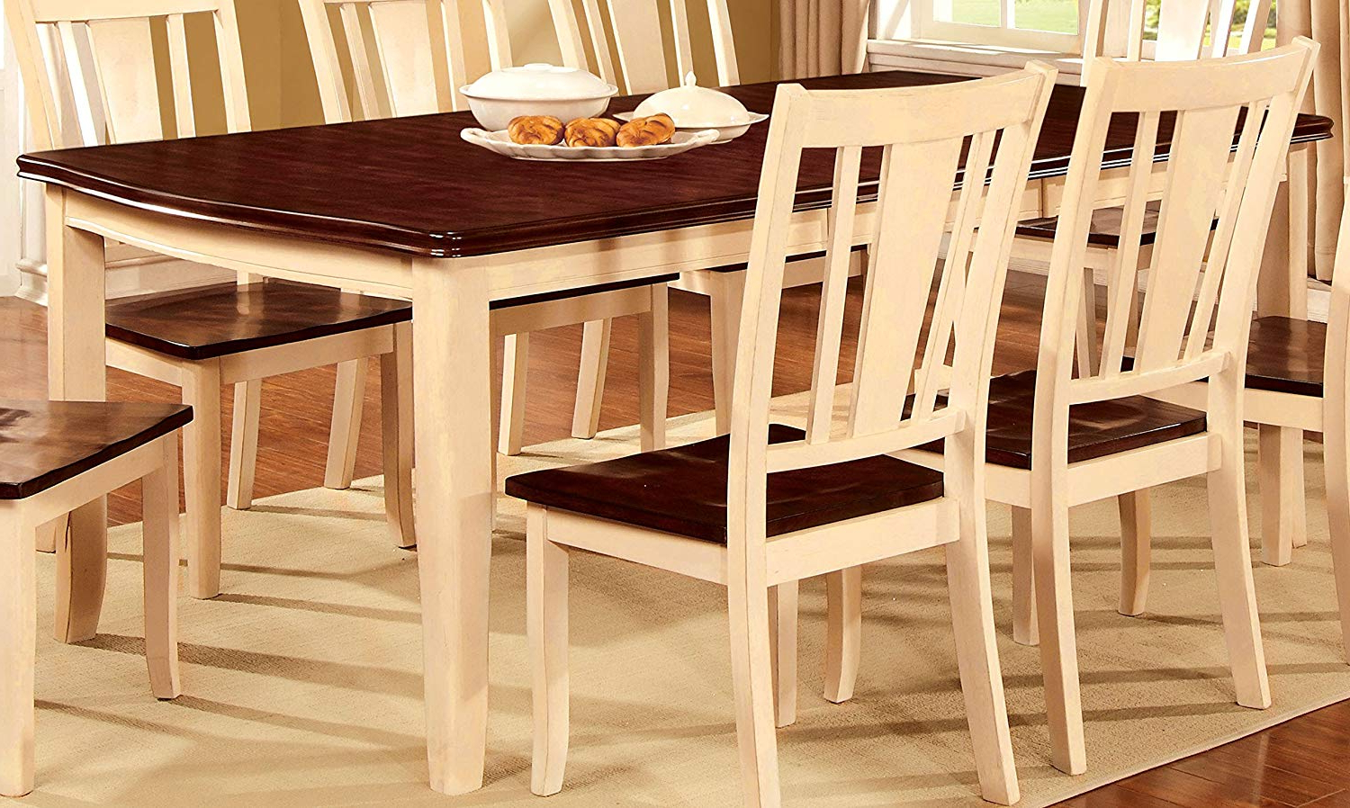 Popular Transitional Rectangular Dining Tables Within Amazon – Furniture Of America Macchio Transitional (View 14 of 30)