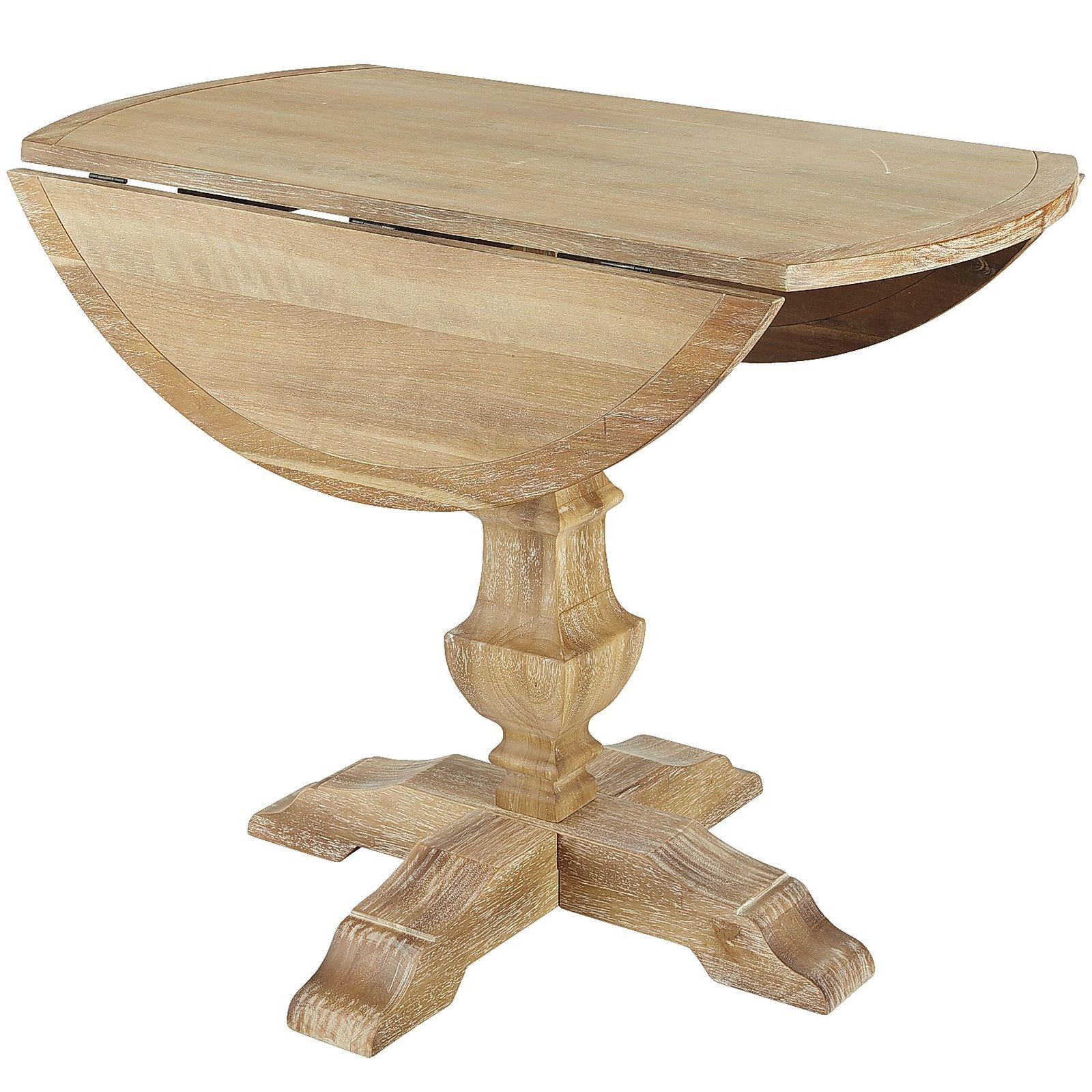 """Popular Unfinished Drop Leaf Casual Dining Tables In Div Class=""""hide On Individual""""> <div>• With Leaves Open (View 22 of 30)"""
