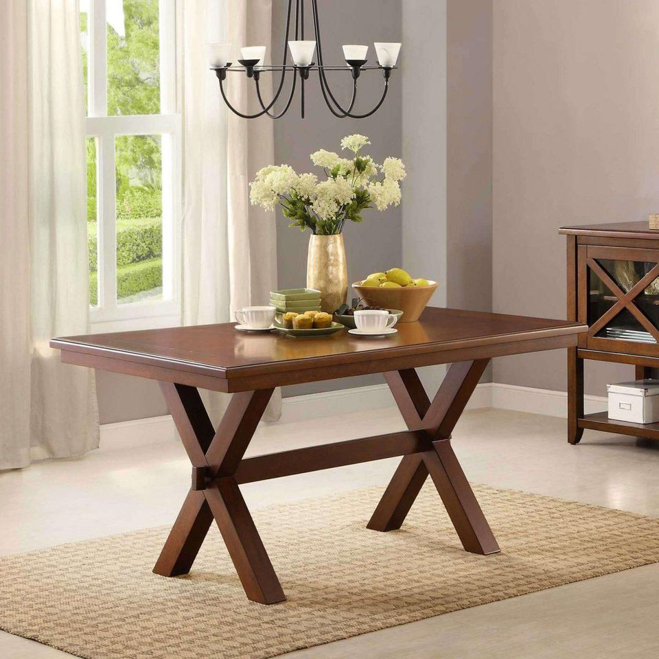 Popular Walmart Black Friday 2019: Best Deals On Dining Room Furniture With Distressed Grey Finish Wood Classic Design Dining Tables (View 18 of 30)
