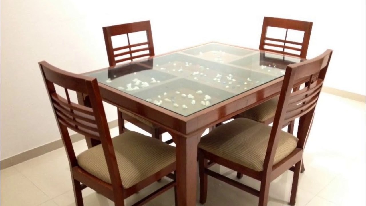 Popular Wood Top Dining Tables Within Glass Top Dining Table With Wooden Base (View 17 of 30)