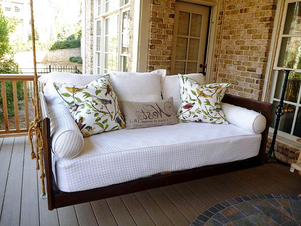 Porch Bed Home – Hanging Porch Beds & Swinging Porch Beds In Most Up To Date Hanging Daybed Rope Porch Swings (View 25 of 30)