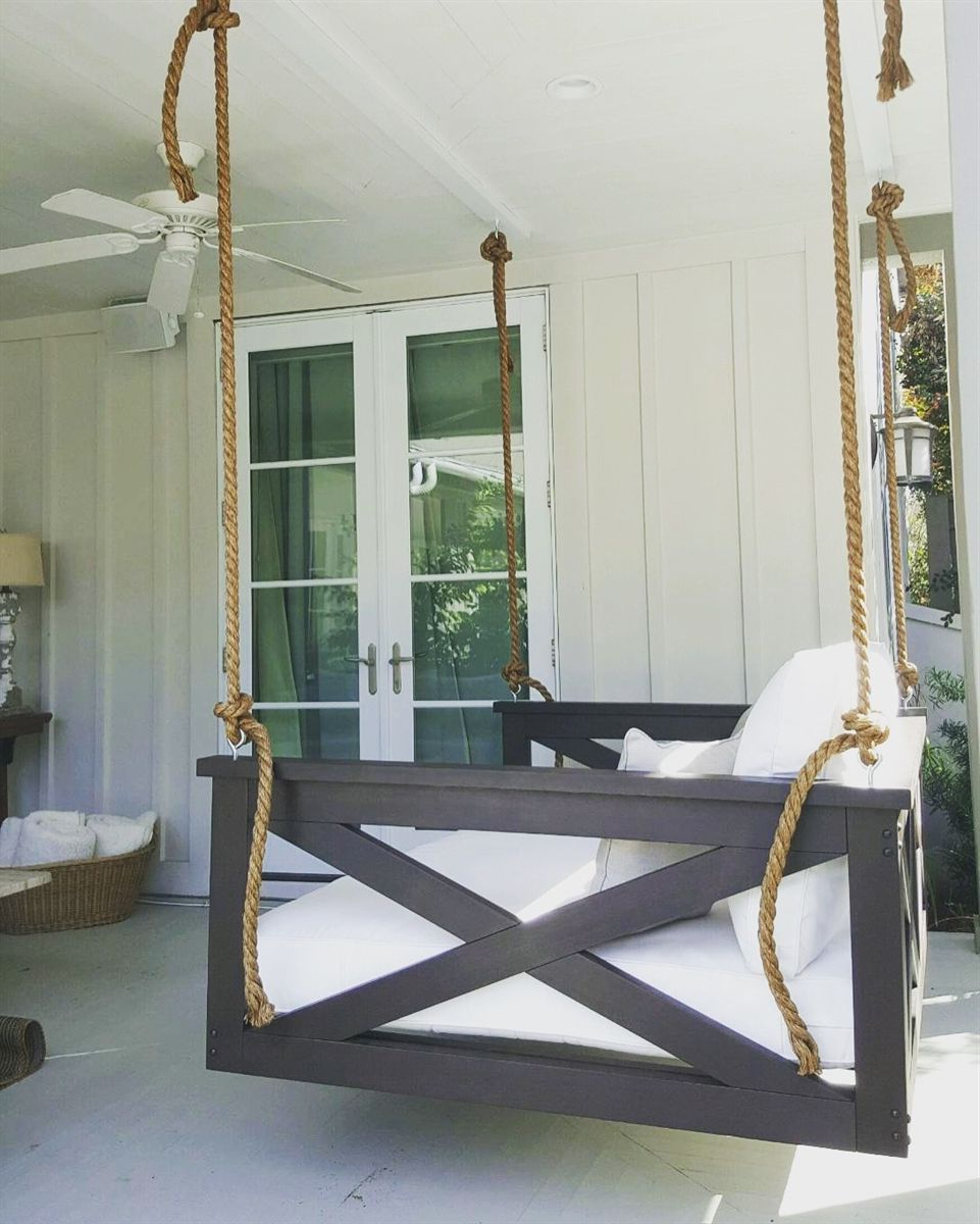 Porch Swing, Diy Porch, Home (View 16 of 30)