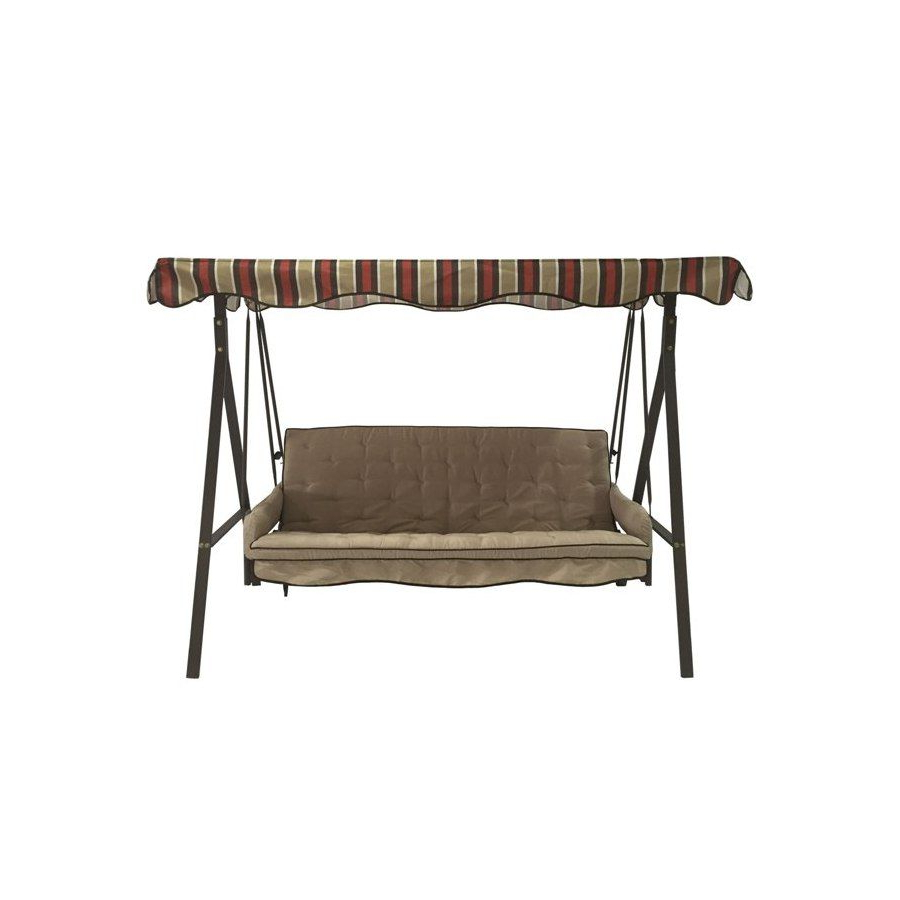 Porch Swing Pertaining To 2 Person Hammered Bronze Iron Outdoor Swings (View 13 of 30)
