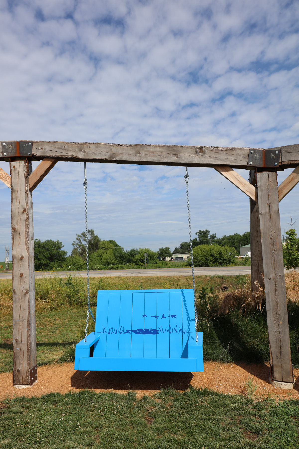 Porch Swings And Fireflies – Moberg Art (View 30 of 30)