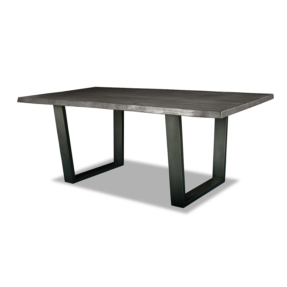 Preferred Acacia Dining Tables With Black Rocket Legs Inside Bullen Solid Wood Dining Table (View 22 of 30)