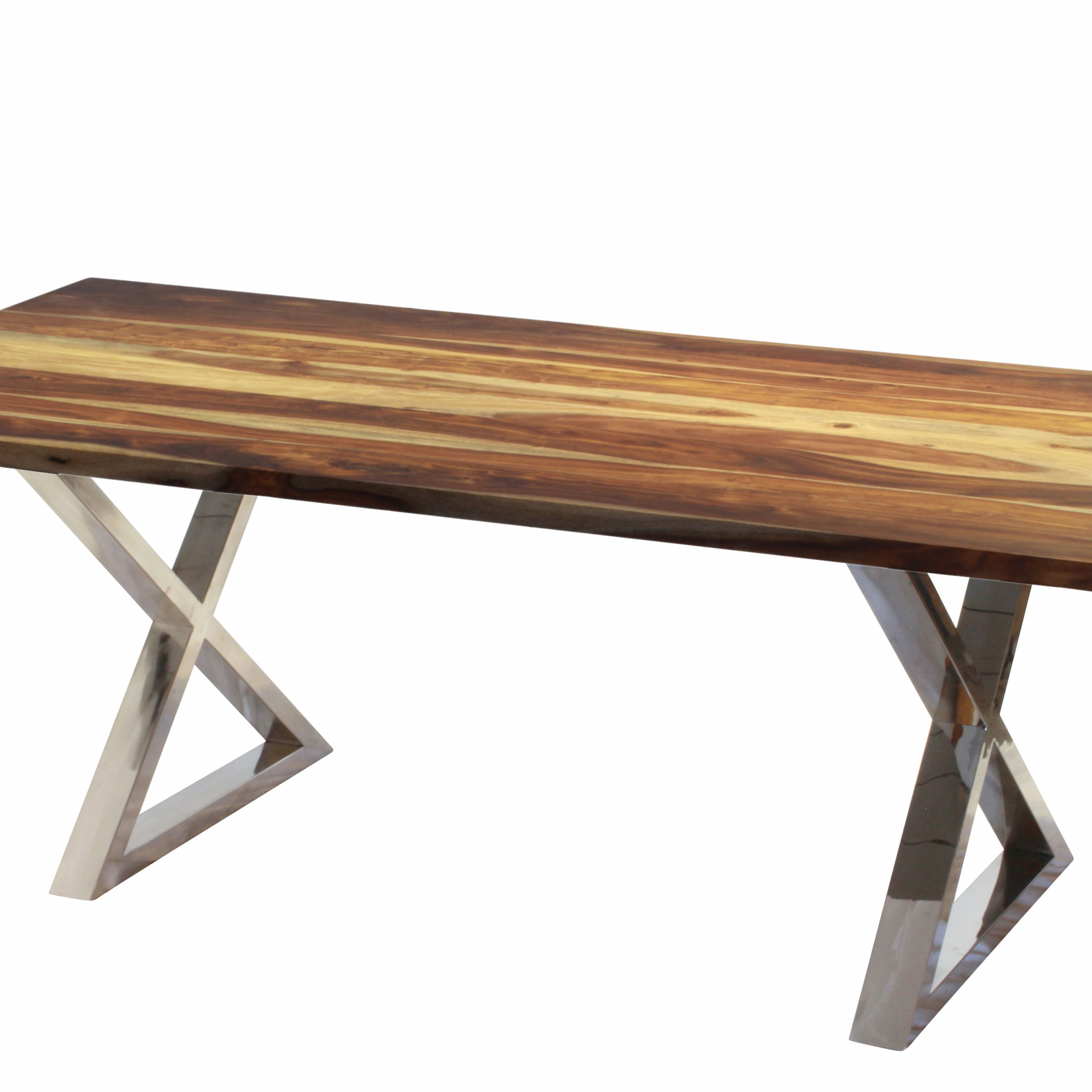 "Preferred Acacia Dining Tables With Black Rocket Legs With Regard To Corcoran Acacia Live Edge Dining Table With Black Rocket Legs – 72"" (View 6 of 30)"