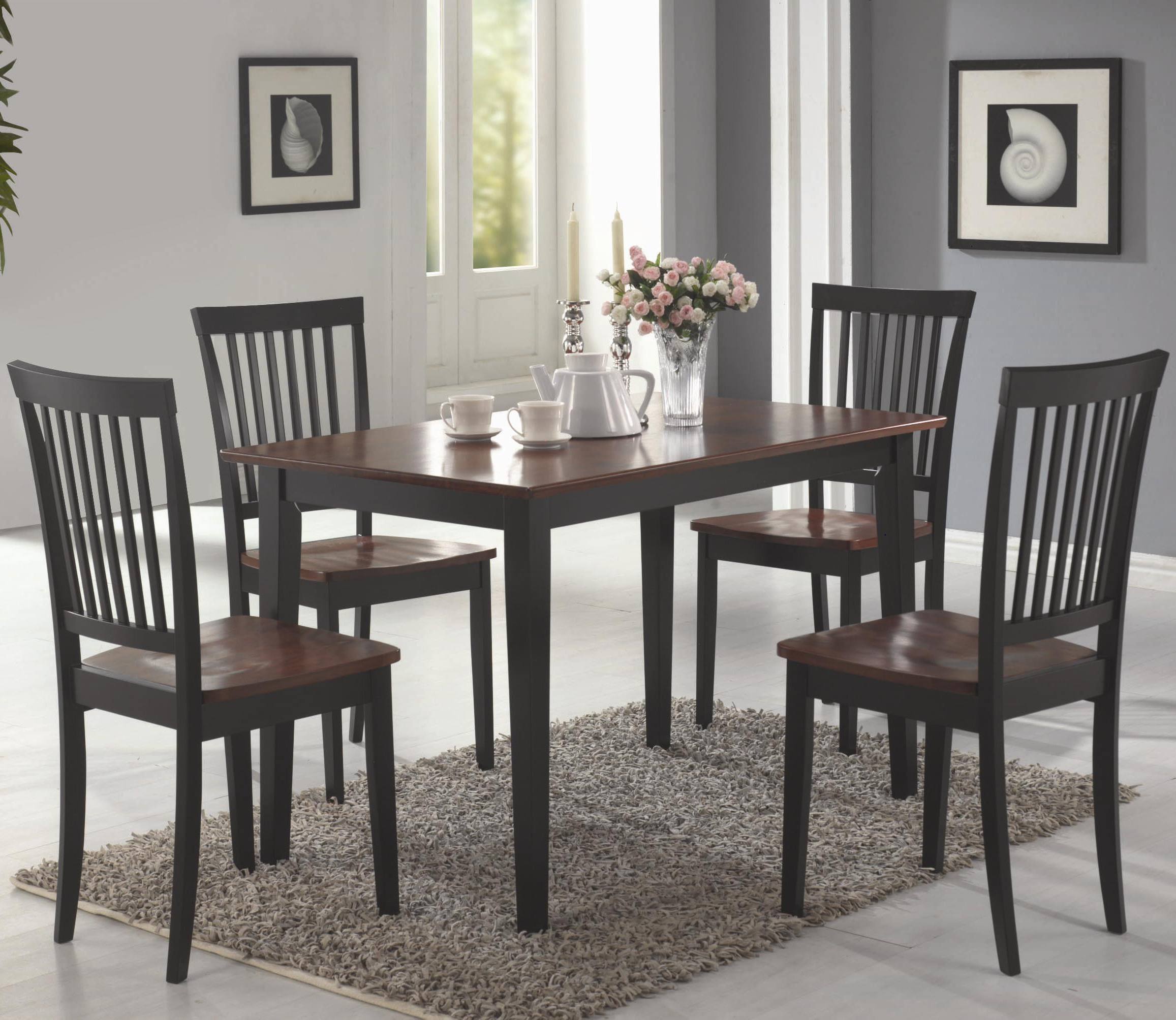 Preferred Cappuccino Finish Wood Classic Casual Dining Tables Regarding D177 150153 Gallery Dining Room Furnitureregency (View 23 of 30)