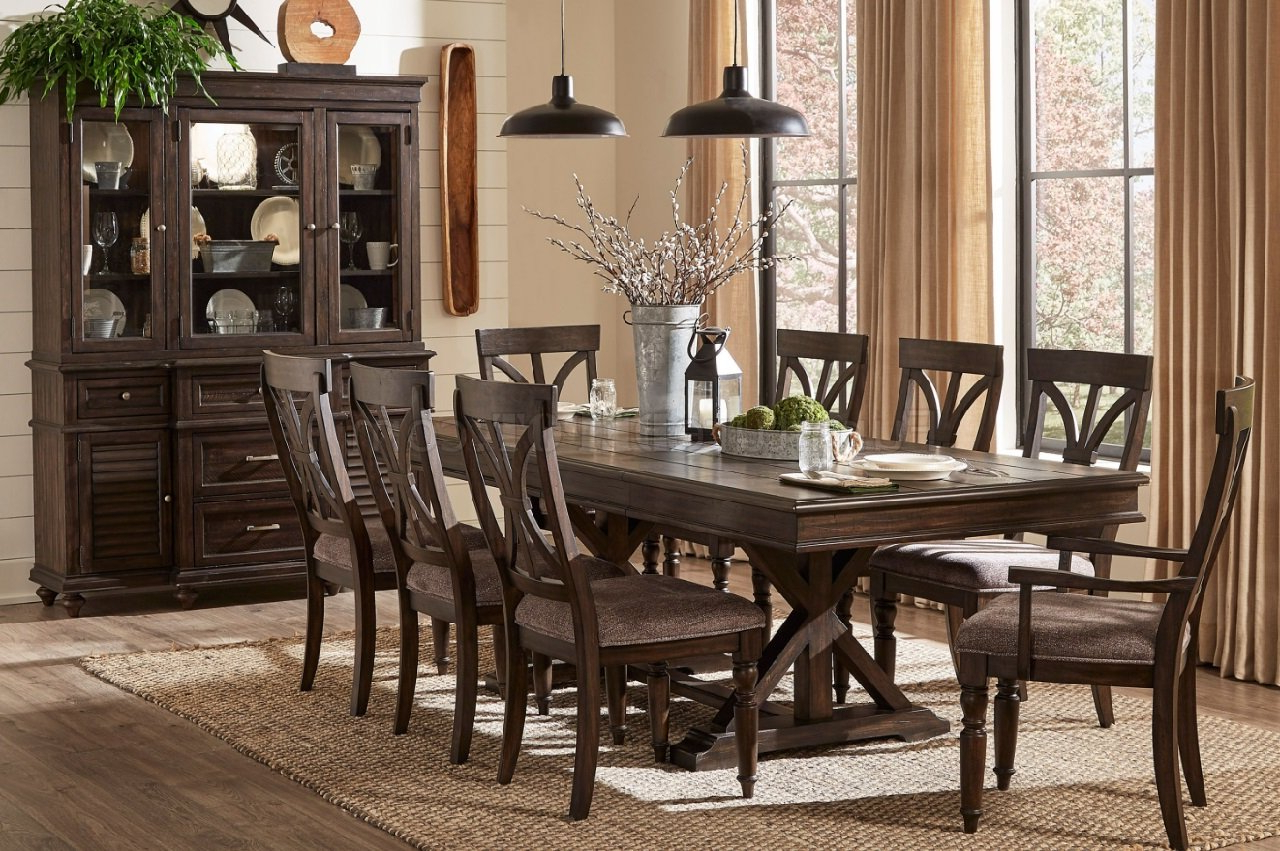 Preferred Charcoal Transitional 6 Seating Rectangular Dining Tables With Cardano Dining Table 1689 96 In Charcoal – Homelegance W/options (View 11 of 30)