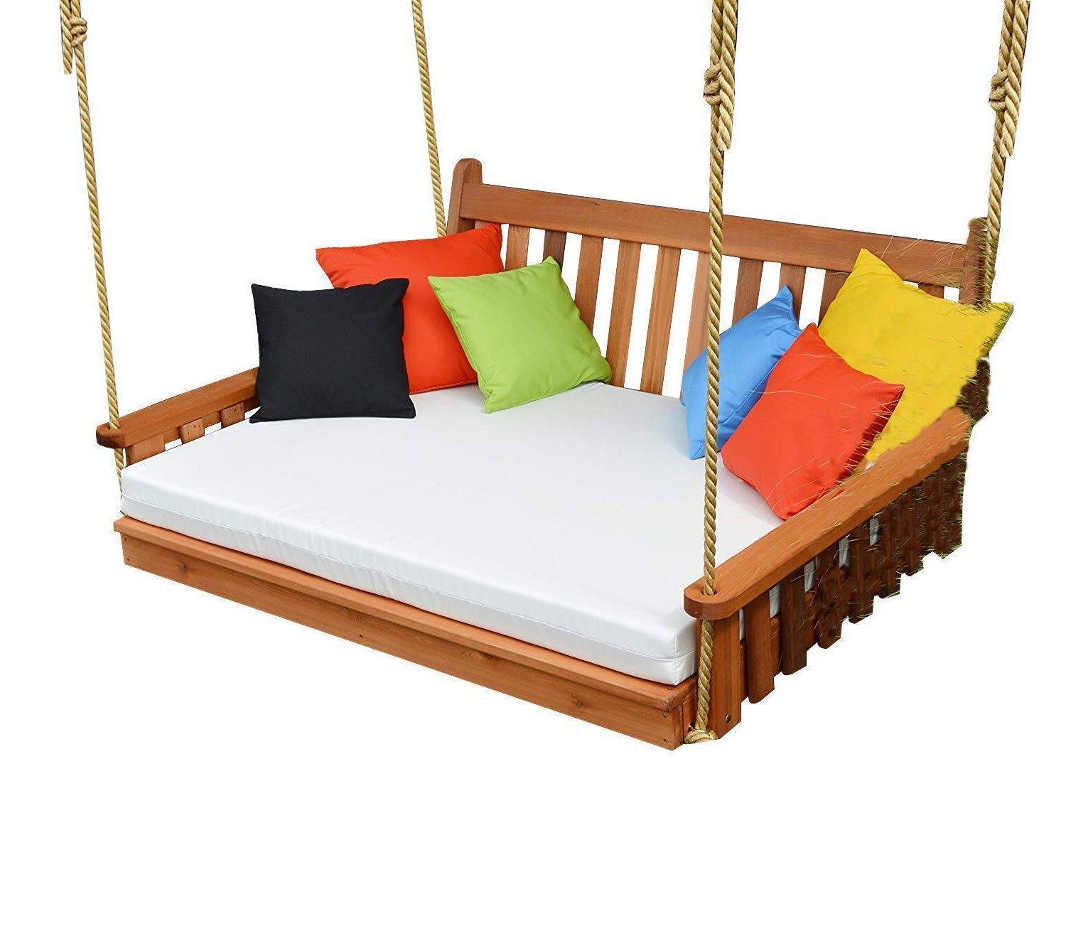 Preferred Day Bed Porch Swings Regarding Daybed Swing Mattress – Natri (View 20 of 30)
