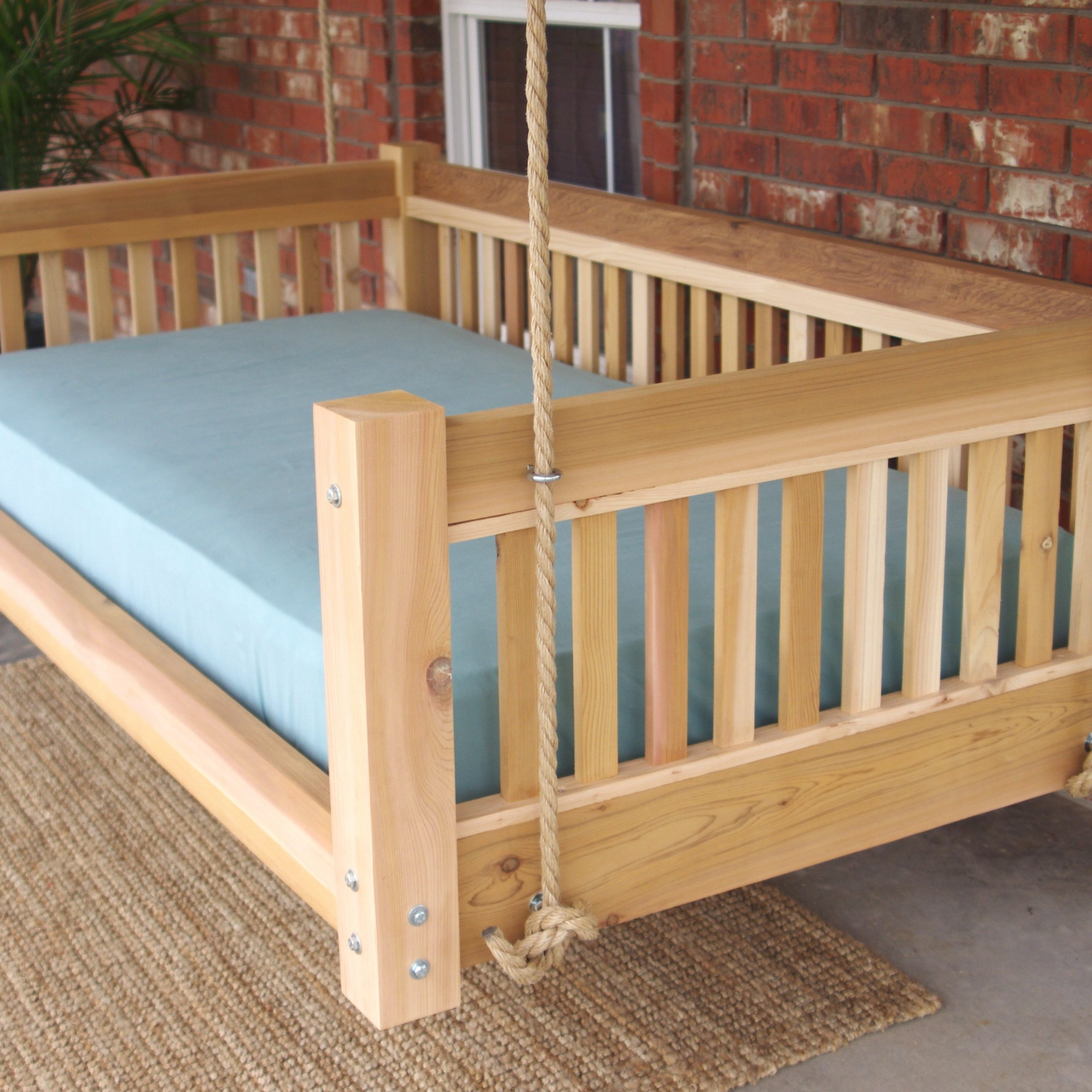 Preferred Day Bed Porch Swings Within Promising Hanging Day Bed Millwood Pines Longbridge Cedar (View 15 of 30)