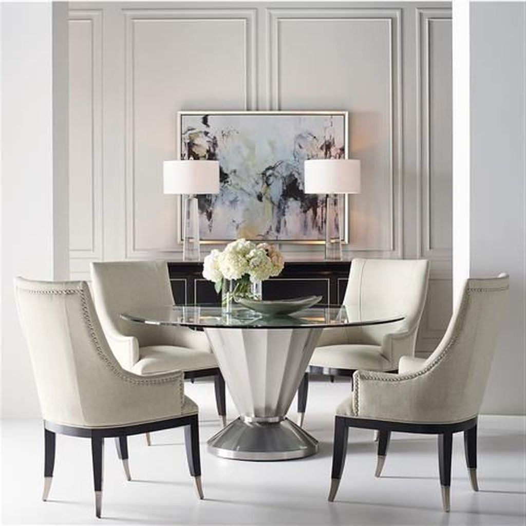 Preferred Elegance Small Round Dining Tables For 50 Elegant Modern Dining Room Design Ideas (View 24 of 30)