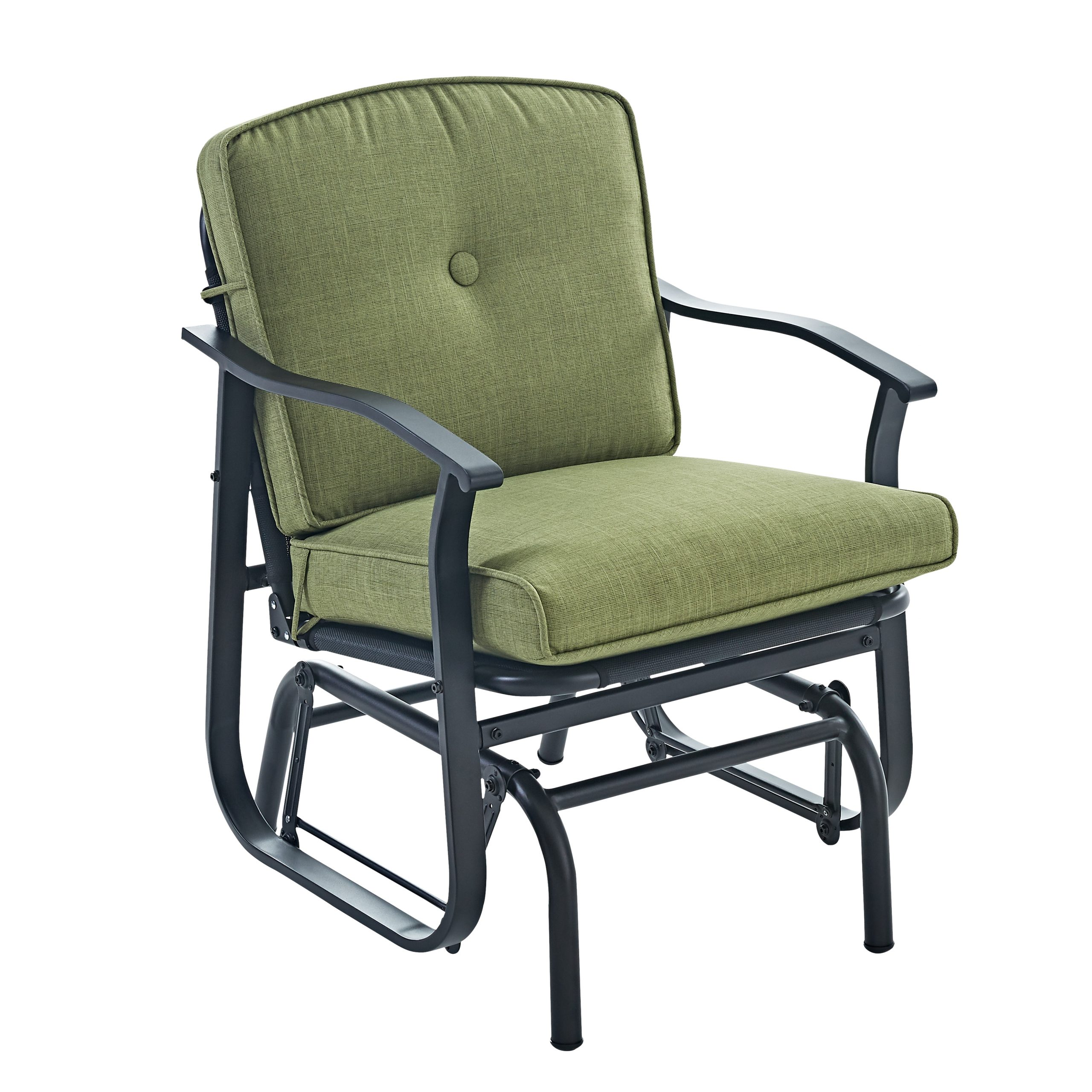 Preferred Outdoor Loveseat Gliders With Cushion For Blue Patio, Lawn & Garden Mainstay Belden Park Outdoor (View 20 of 30)