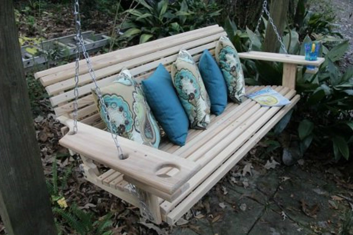 Preferred Patio And Porch Swings – Come Sit A Spell Regarding 5 Ft Cedar Swings With Springs (View 28 of 30)