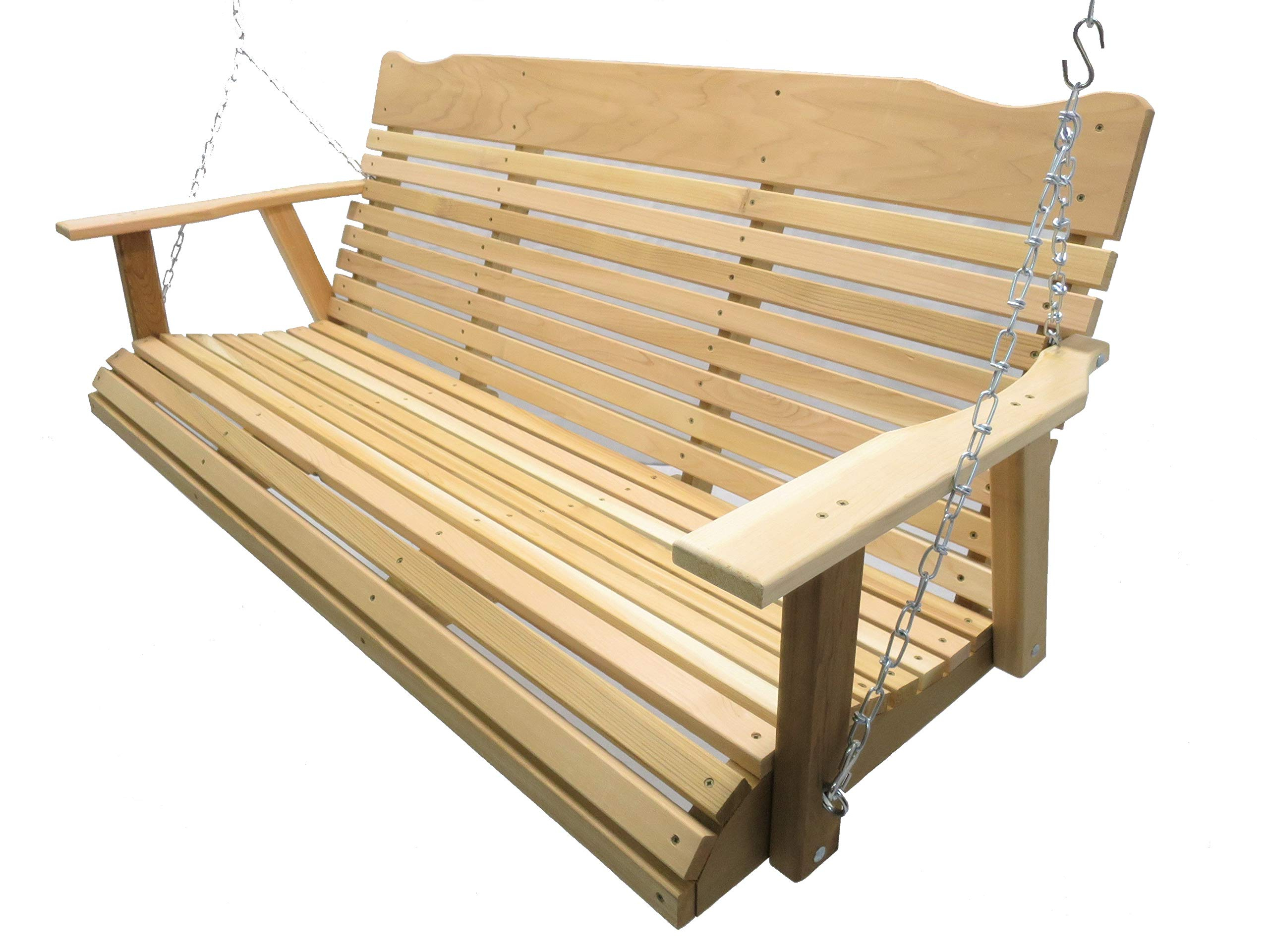 Preferred Plain Porch Swings Throughout Best Rated In Porch Swings & Helpful Customer Reviews (View 20 of 30)