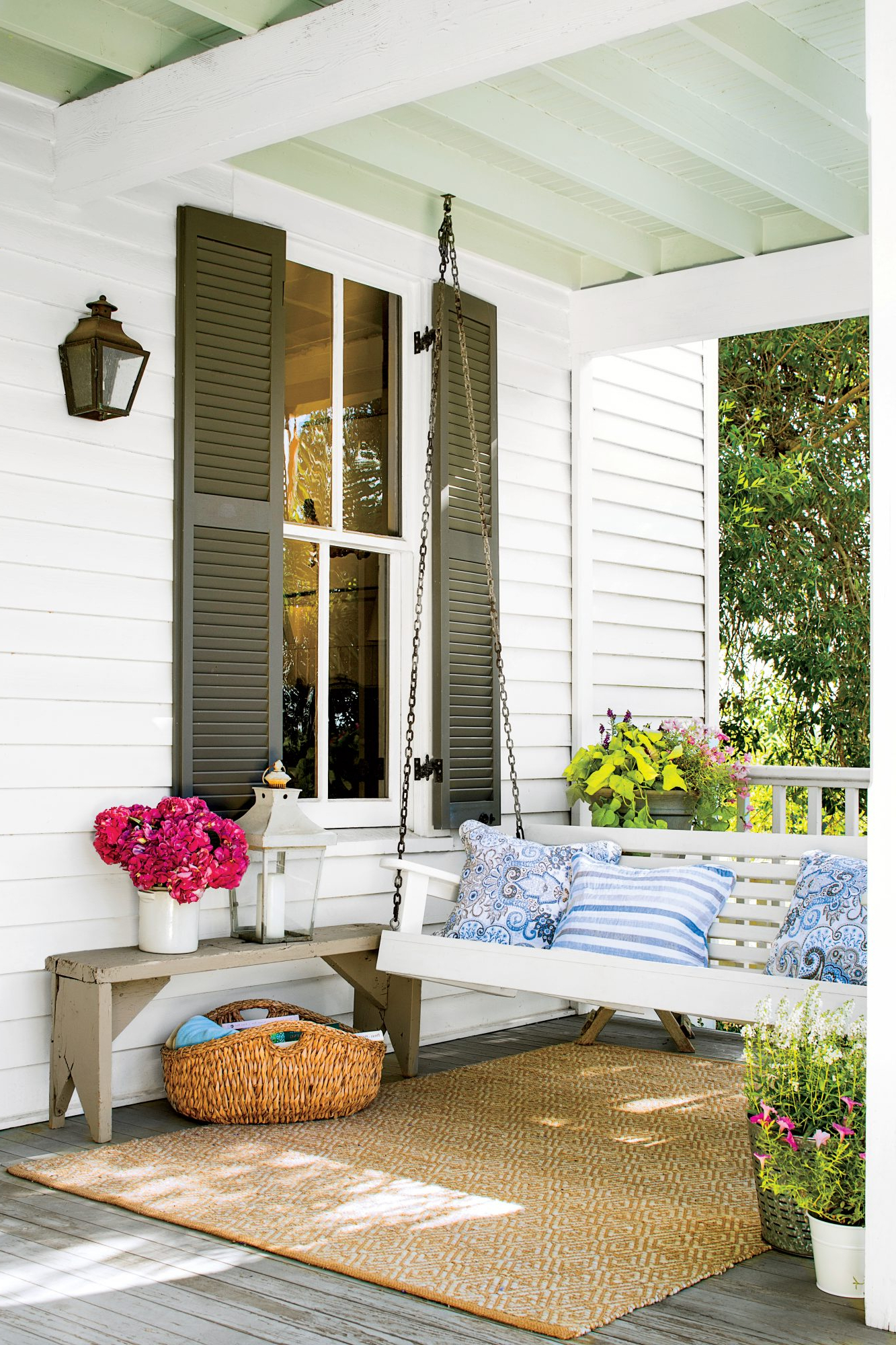 Preferred Sit A Spell! 10 Peaceful Porch Swings With Regard To Classic Porch Swings (View 25 of 30)