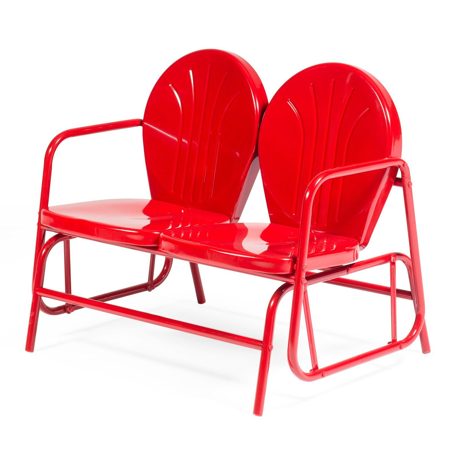Products Throughout Outdoor Retro Metal Double Glider Benches (View 2 of 30)