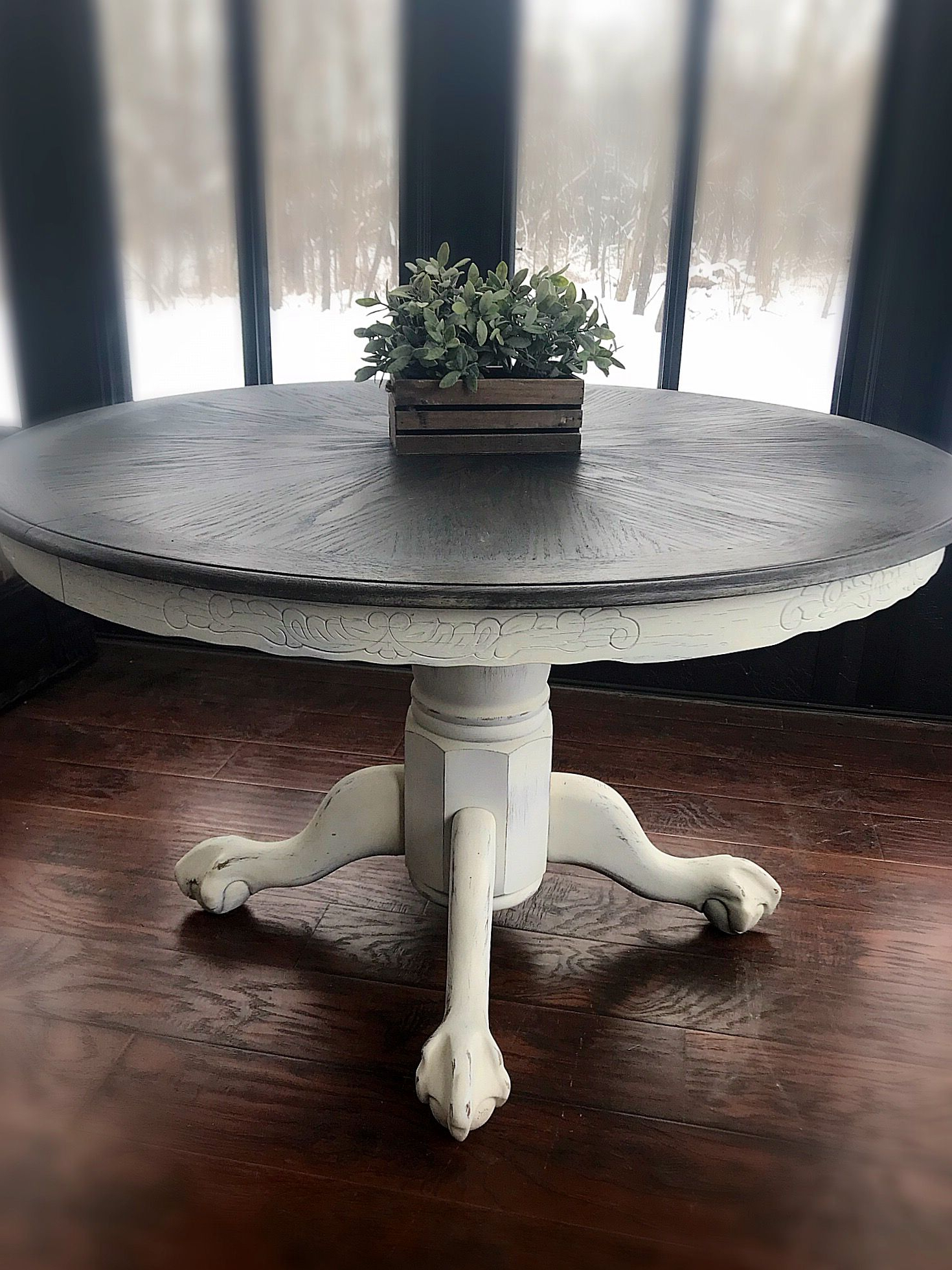 Provence Accent Dining Tables In Well Liked Vintage Wooden Accent Table, Rustic Entryway Table (View 2 of 30)