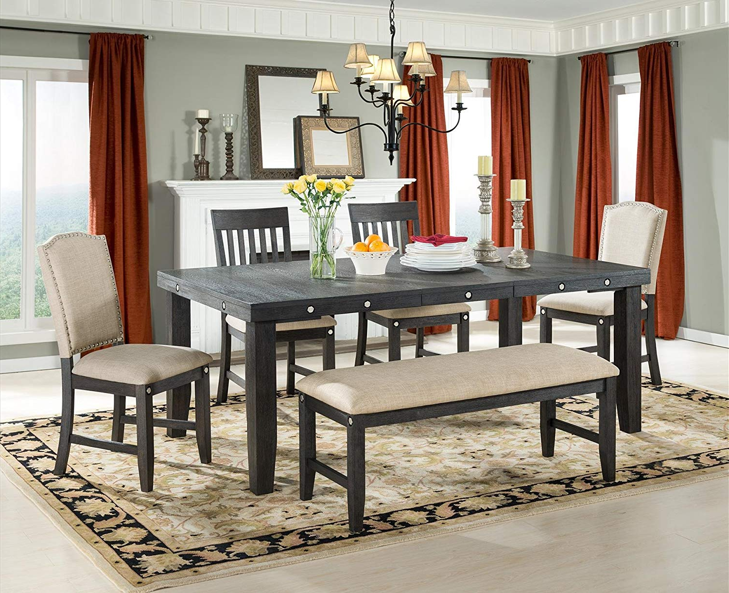 Provence Accent Dining Tables Pertaining To Most Popular Amazon – Vilo Home Marseille Provence Parsons Chair (set (View 10 of 30)