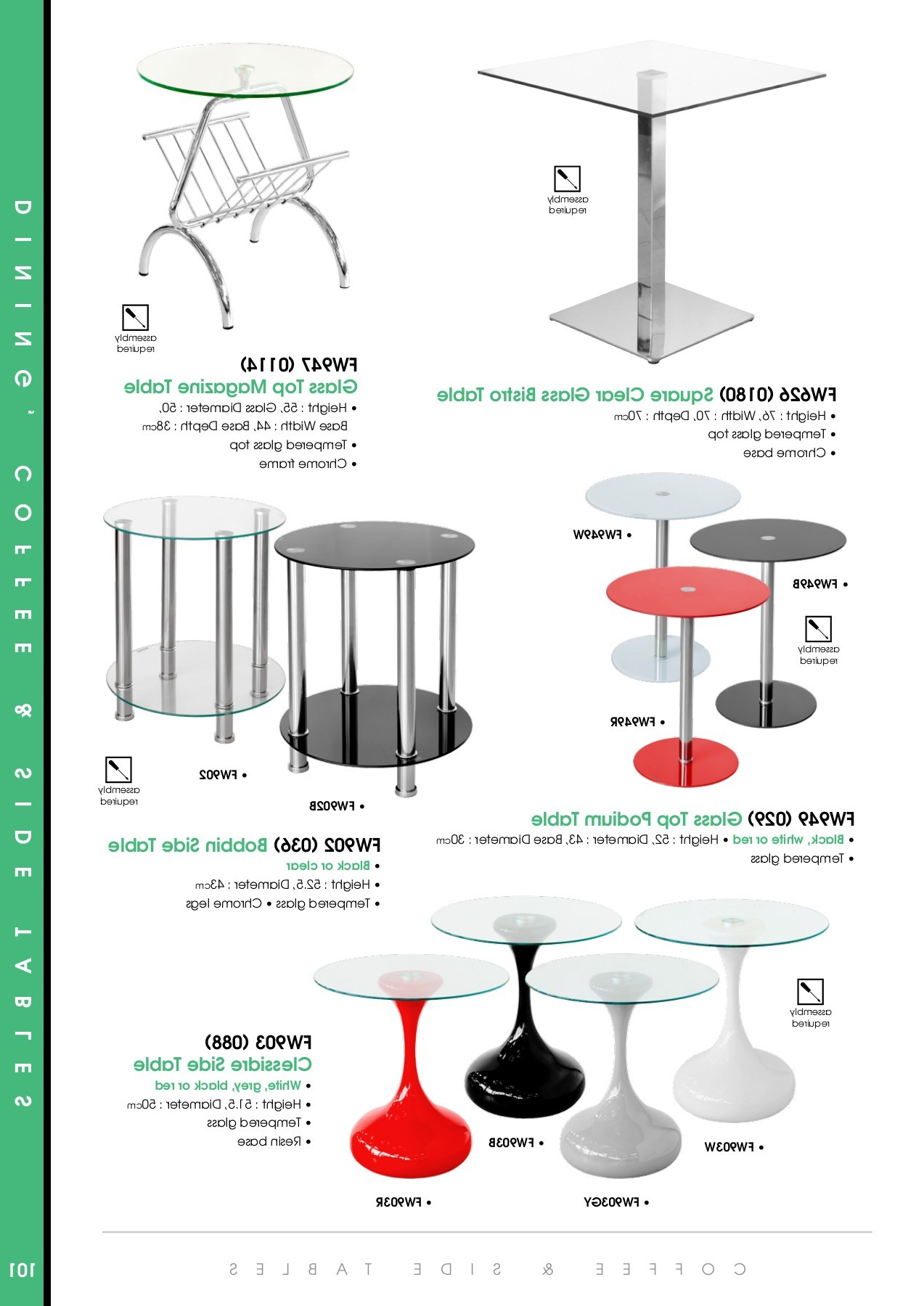 Pubhtml5 Pertaining To Eames Style Dining Tables With Chromed Leg And Tempered Glass Top (View 24 of 30)