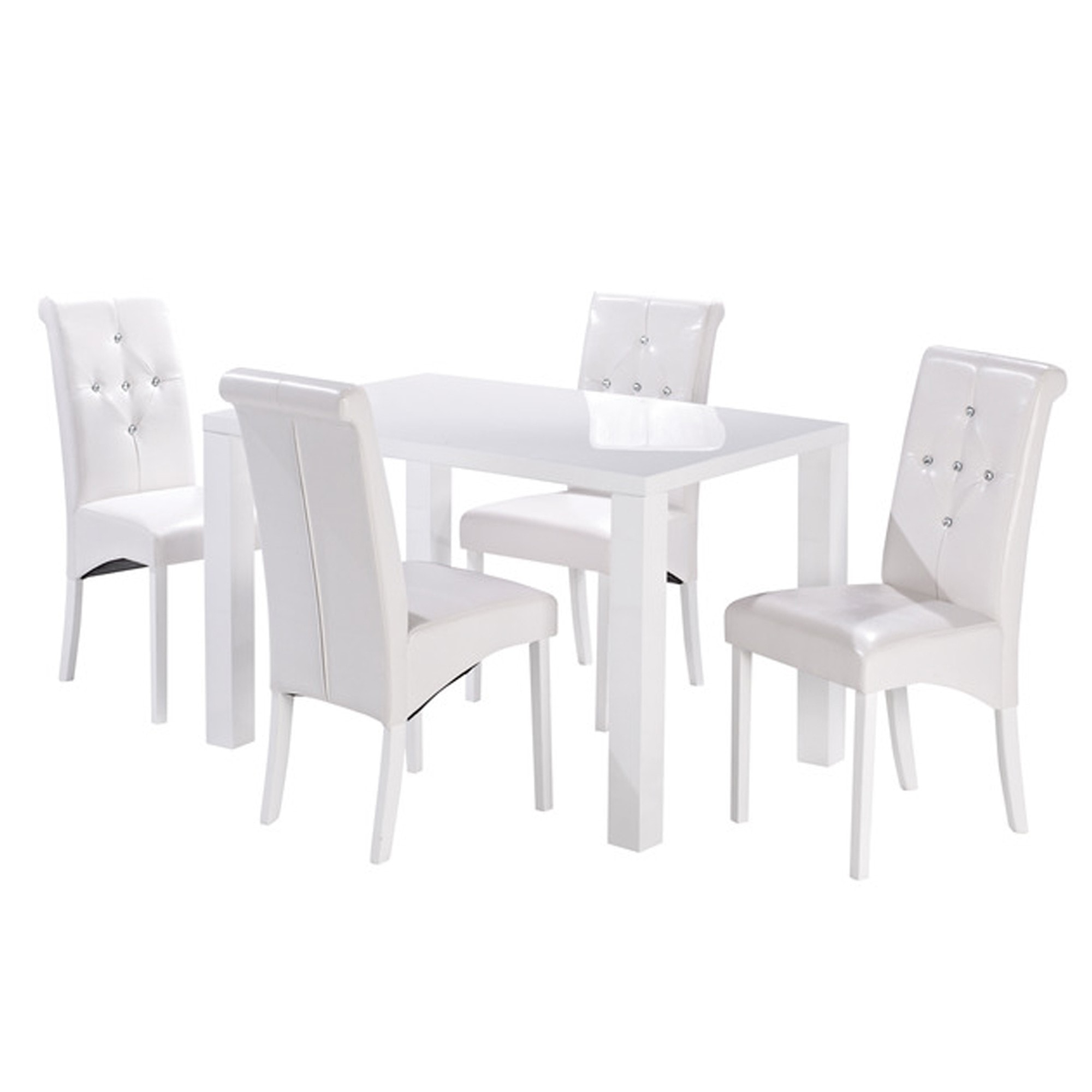 Puro White Medium Dining Table Throughout Favorite Medium Dining Tables (View 3 of 30)