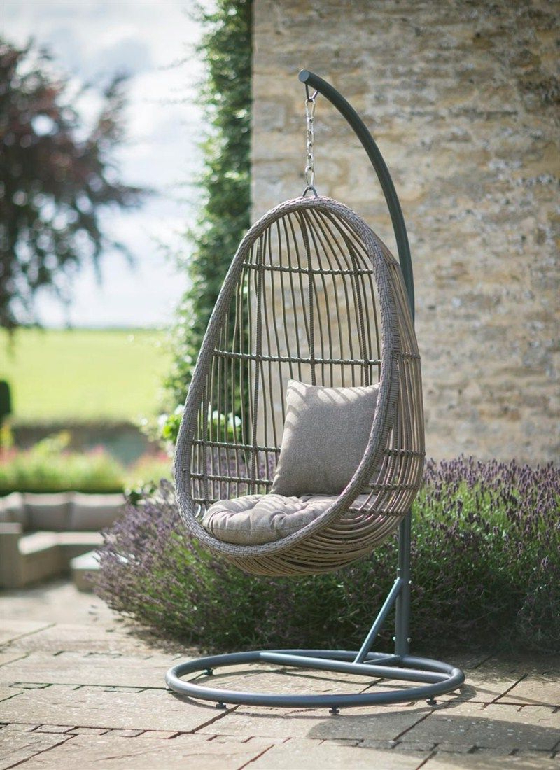 Rattan Garden Swing Chairs Pertaining To 2019 Hanging Nest Chair (View 6 of 31)