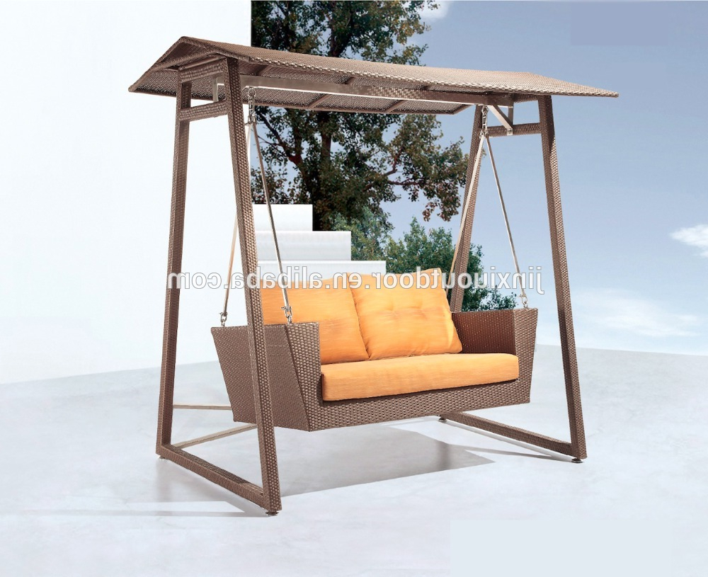 Rattan Garden Swing Chairs Throughout Famous Rattan Garden Hanging Chair Love Seat F 105 – Buy Garden Hanging Chair,garden Swing Chair,patio Swing Chair Product On Alibaba (View 17 of 31)