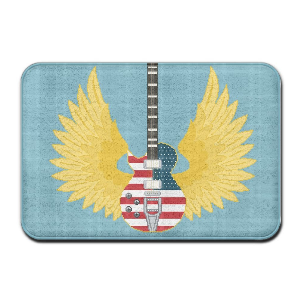 Recent Amazon: Yangpa Rock American Flag Guitar Outdoor Rubber Throughout American Flag Porch Swings (View 27 of 30)