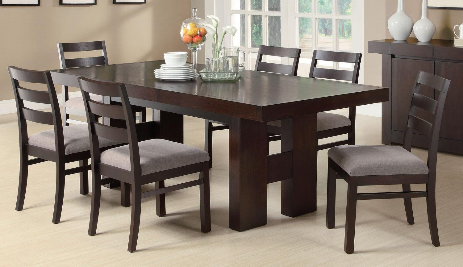 Recent Coaster Dabny Dining Table With Transitional Rectangular Dining Tables (View 17 of 30)