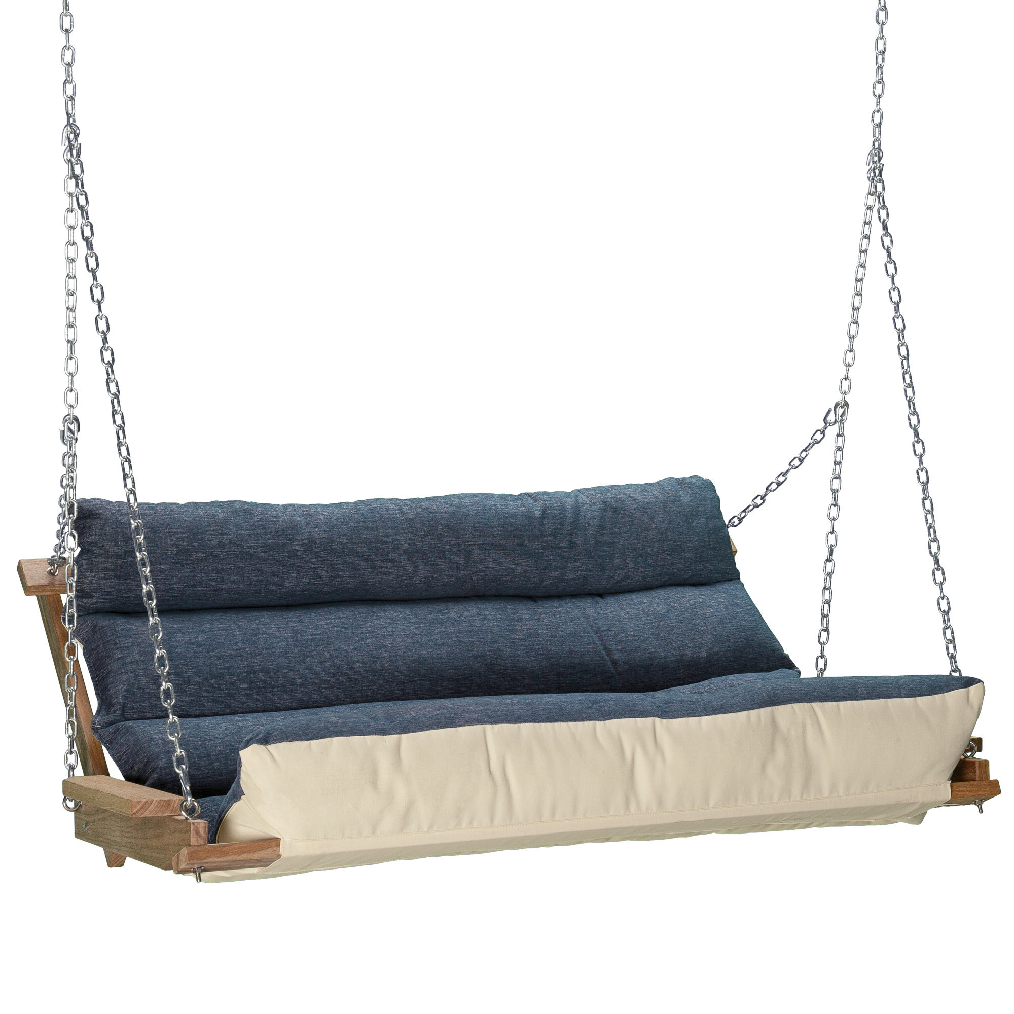 Recent Deluxe Cushion Sunbrella Porch Swings With Regard To Carr Deluxe Cushion Porch Swing (View 6 of 30)