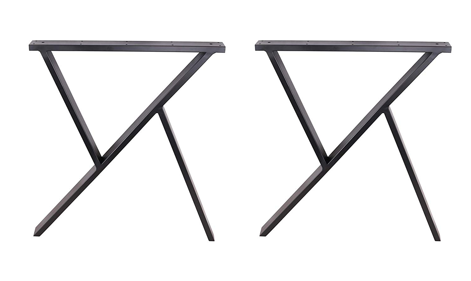 """Recent Dining Tables With Black U Legs Throughout Eclv 2 X 28"""" Dining Table Legs, R Shaped Steel Table Legs (View 25 of 30)"""